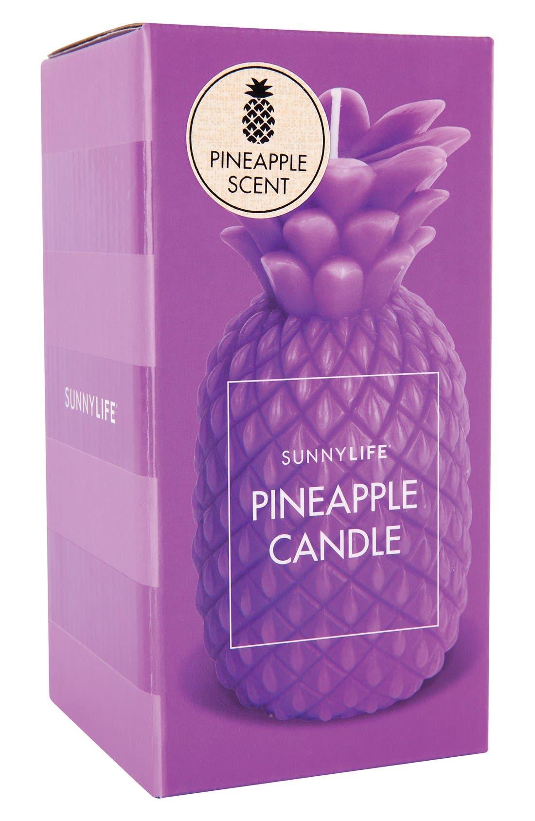 Alternate Image 2  - Sunnylife 'Small' Pineapple Candle
