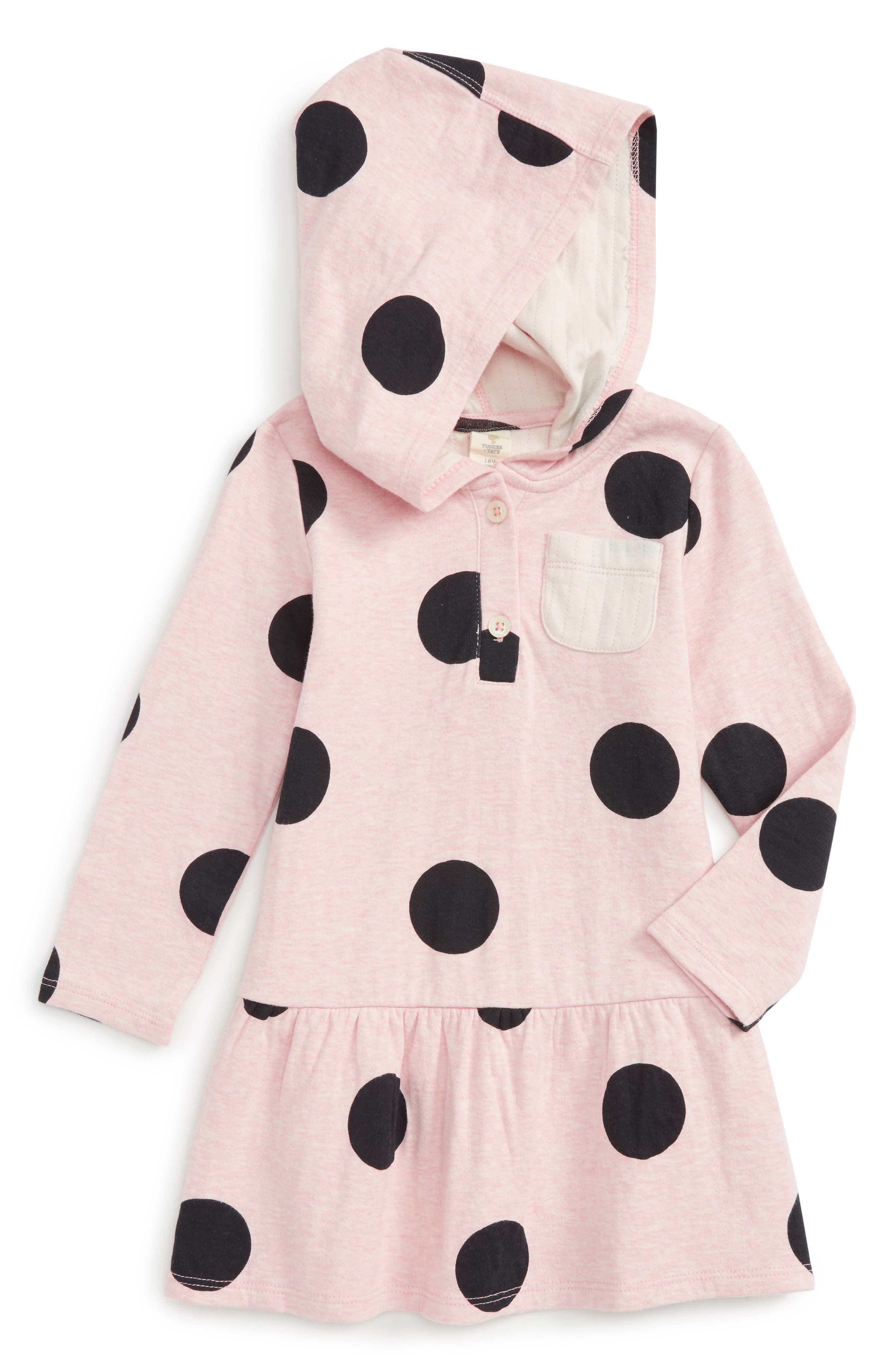 Tucker + Tate Hooded Dress (Baby Girls)