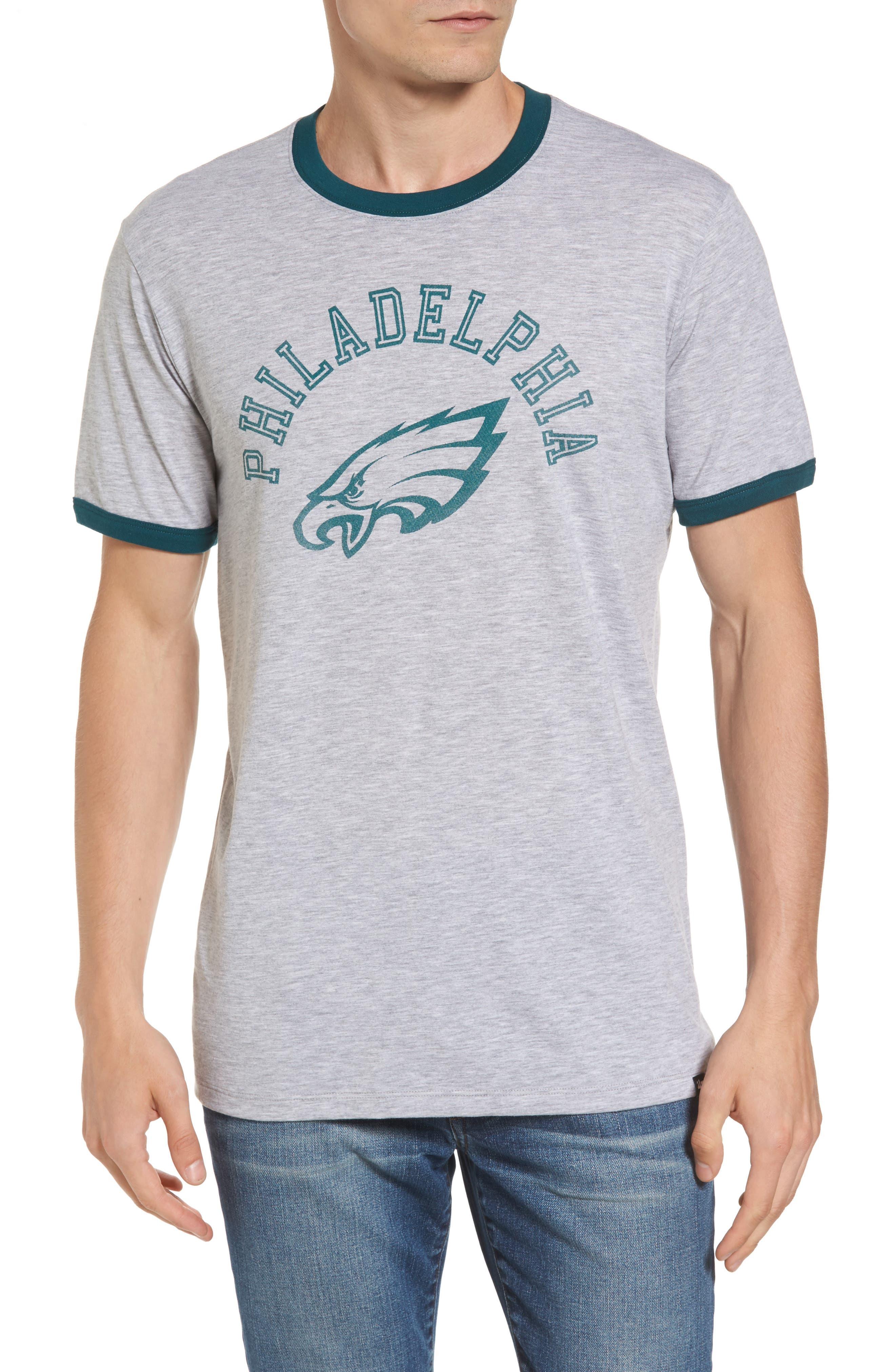 47 Brand Philadelphia Eagles Ringer T-Shirt