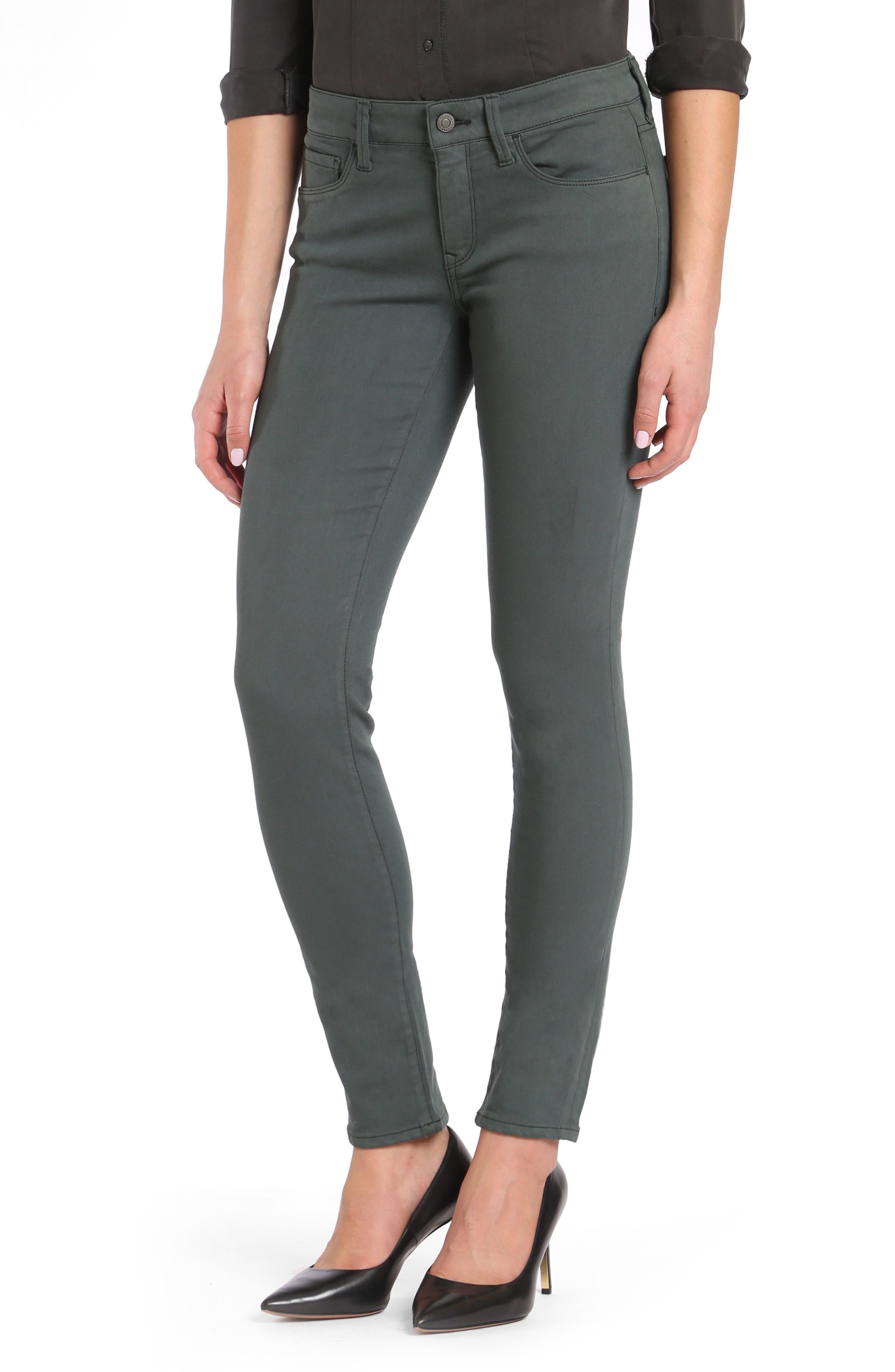 Mavi Jeans Adriana Skinny Twill Pants