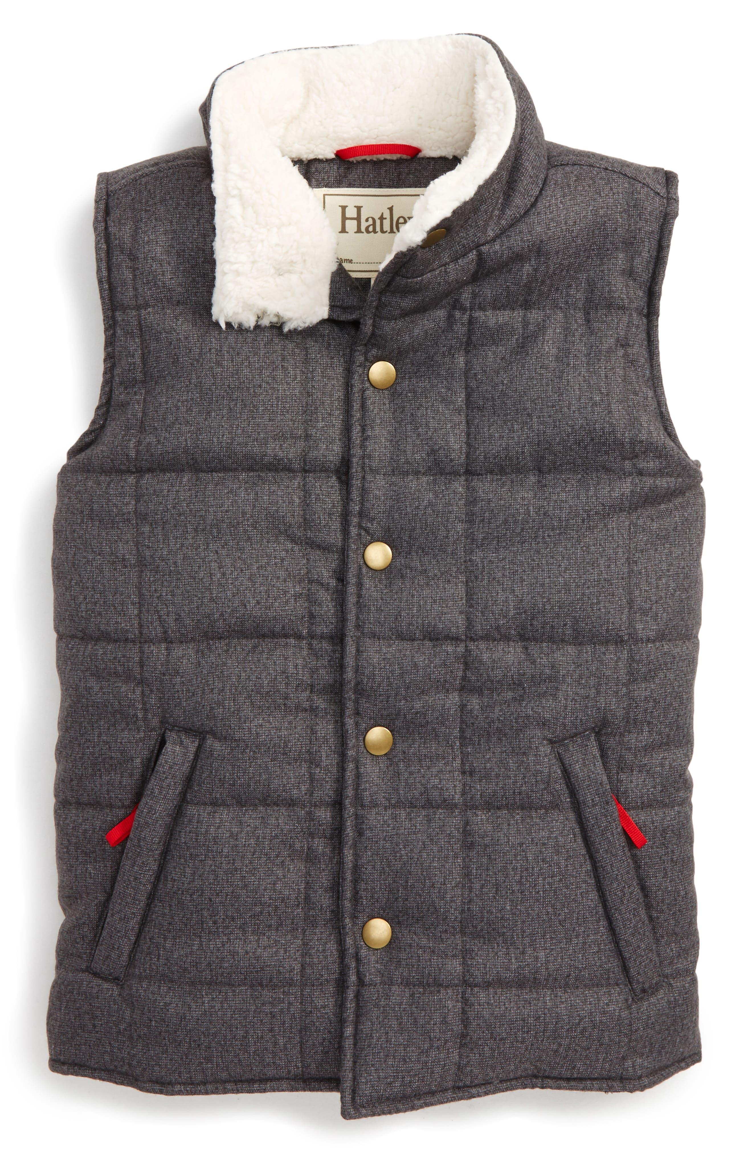 Hatley Quilted Vest (Toddler Boys, Little Boys & Big Boys)