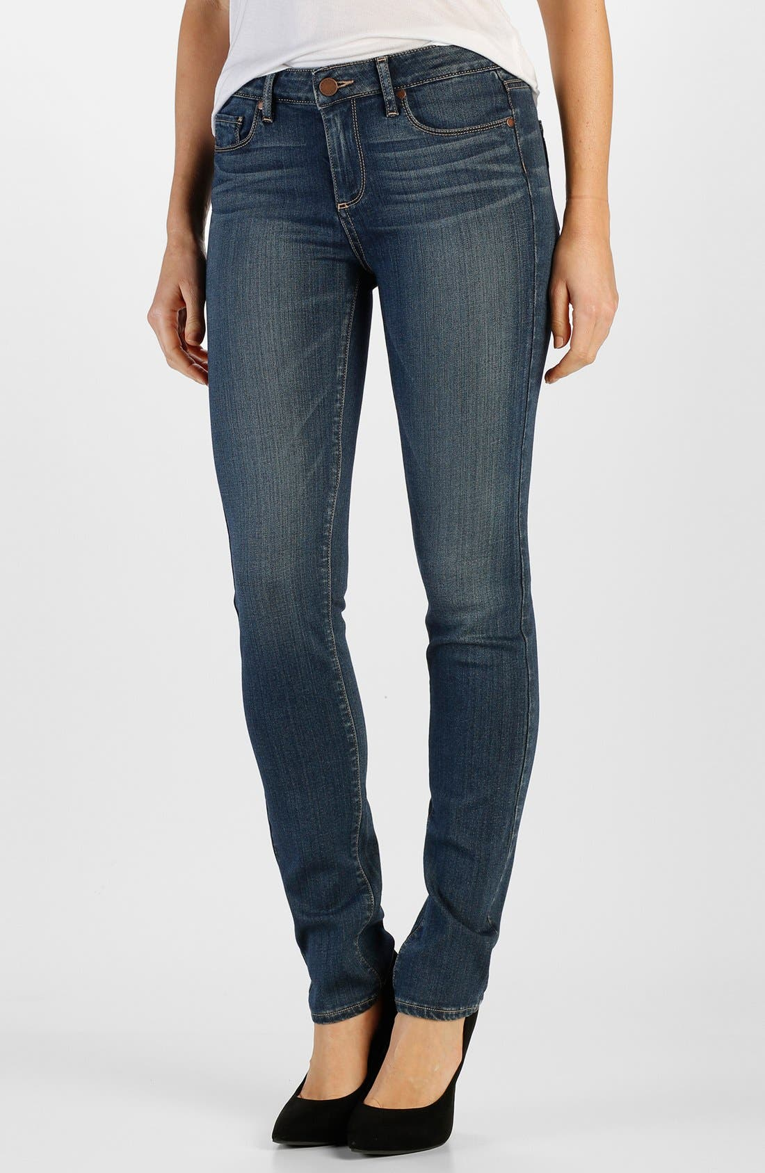 Alternate Image 1 Selected - Paige Denim 'Transcend - Skyline' Skinny Jeans (Lex)