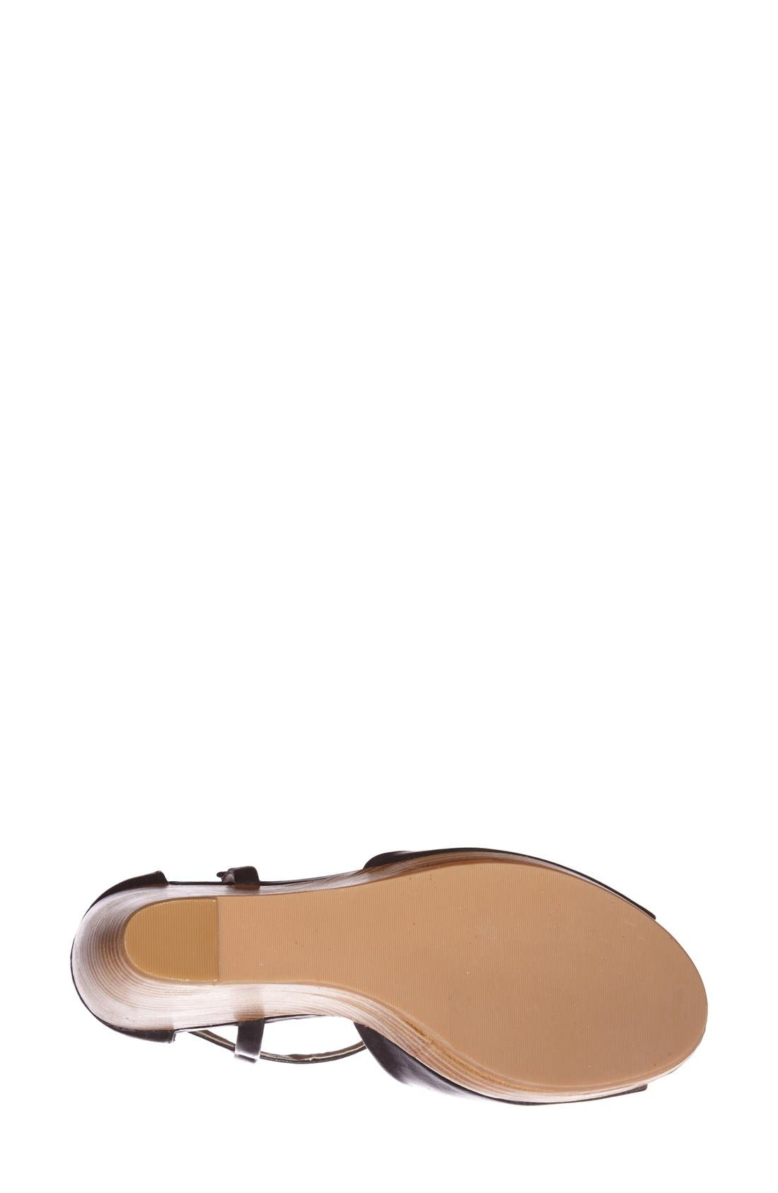 Alternate Image 4  - Splendid 'Davie' Leather Ankle Strap Wedge Sandal (Women)