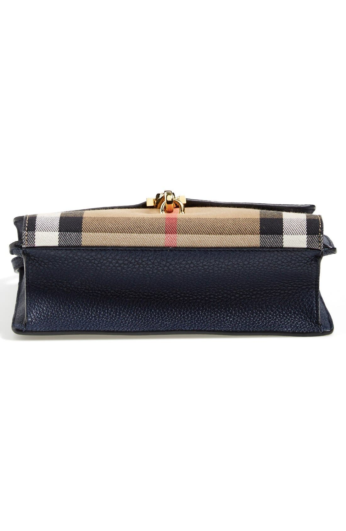 Alternate Image 6  - Burberry 'Small Macken' House Check Crossbody Bag