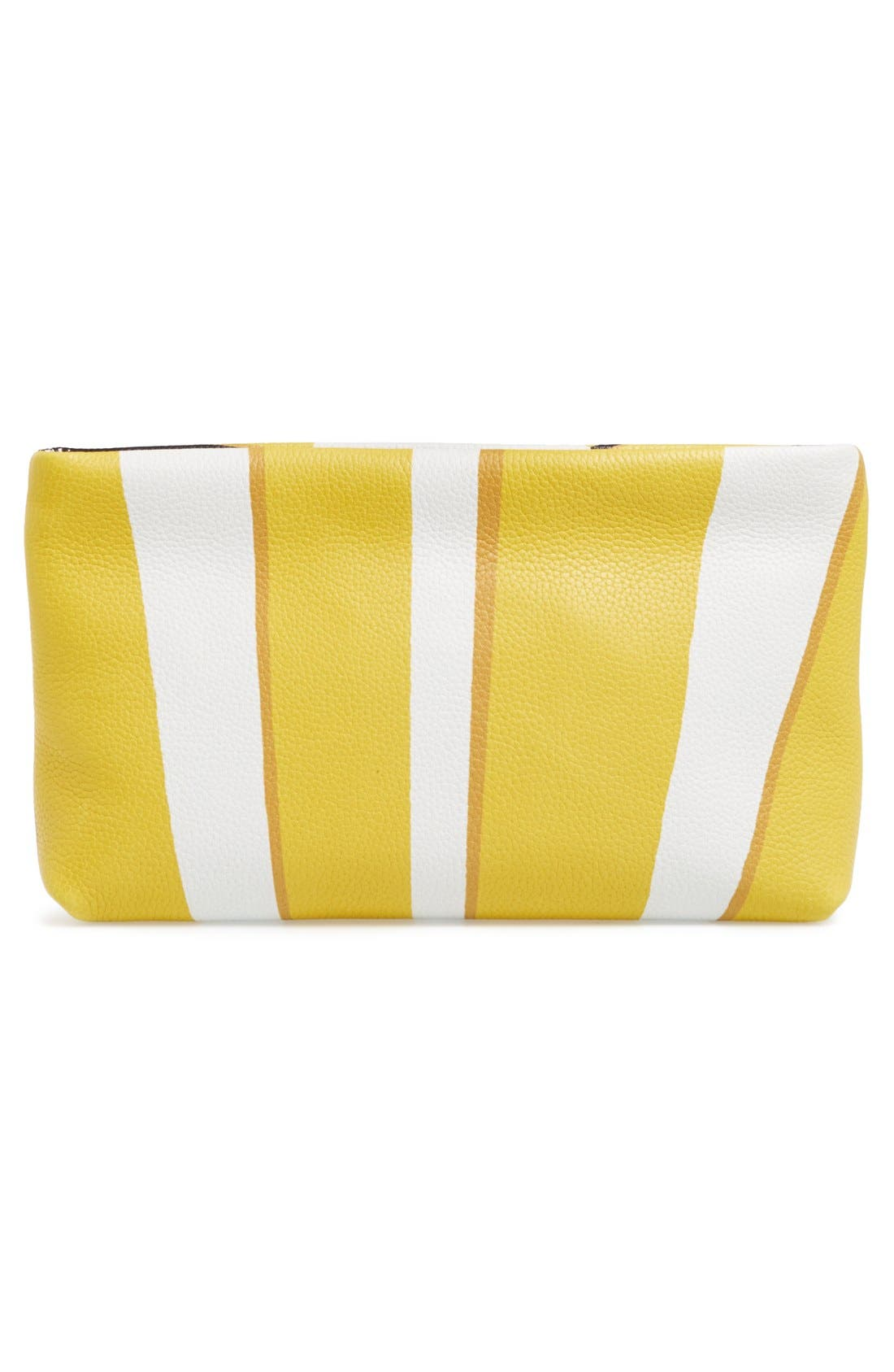 Alternate Image 3  - Burberry Leather Clutch