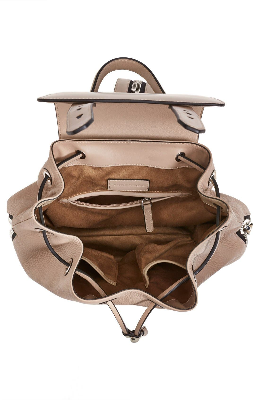 Alternate Image 4  - Mackage 'Bane' Convertible Leather Backpack