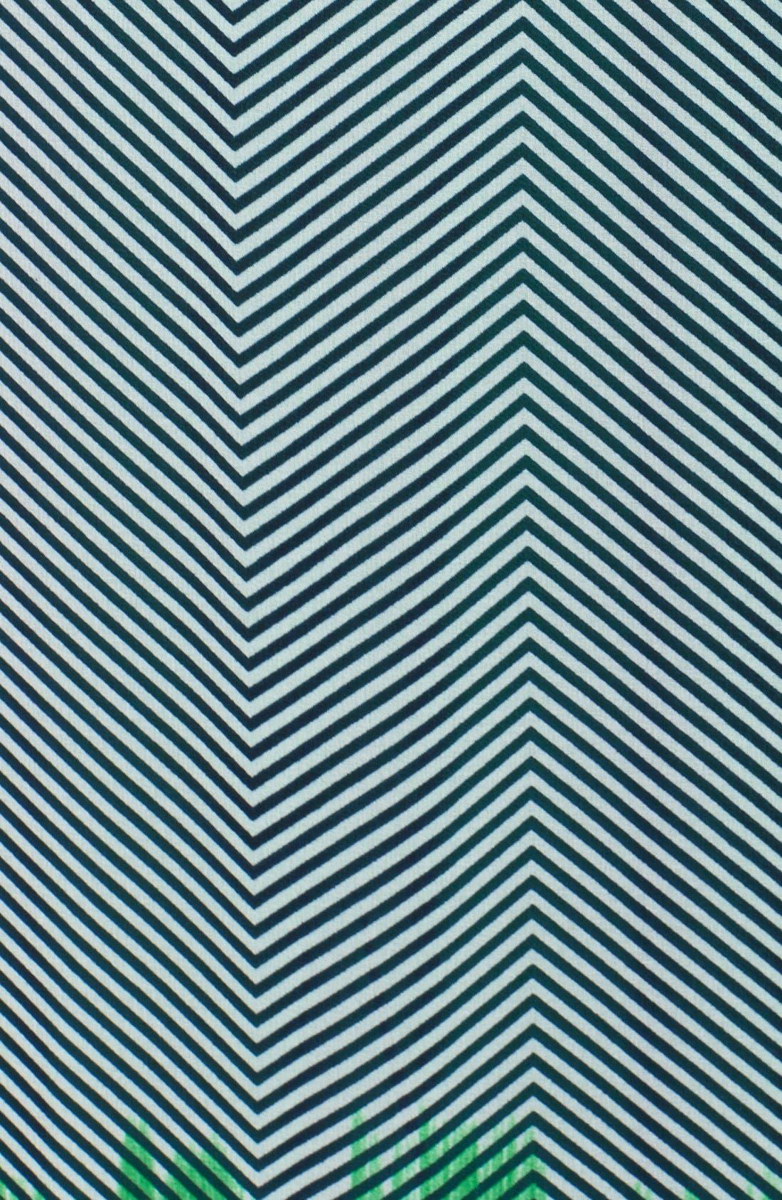 Alternate Image 3  - Vince Camuto Print Crepe Maxi Dress