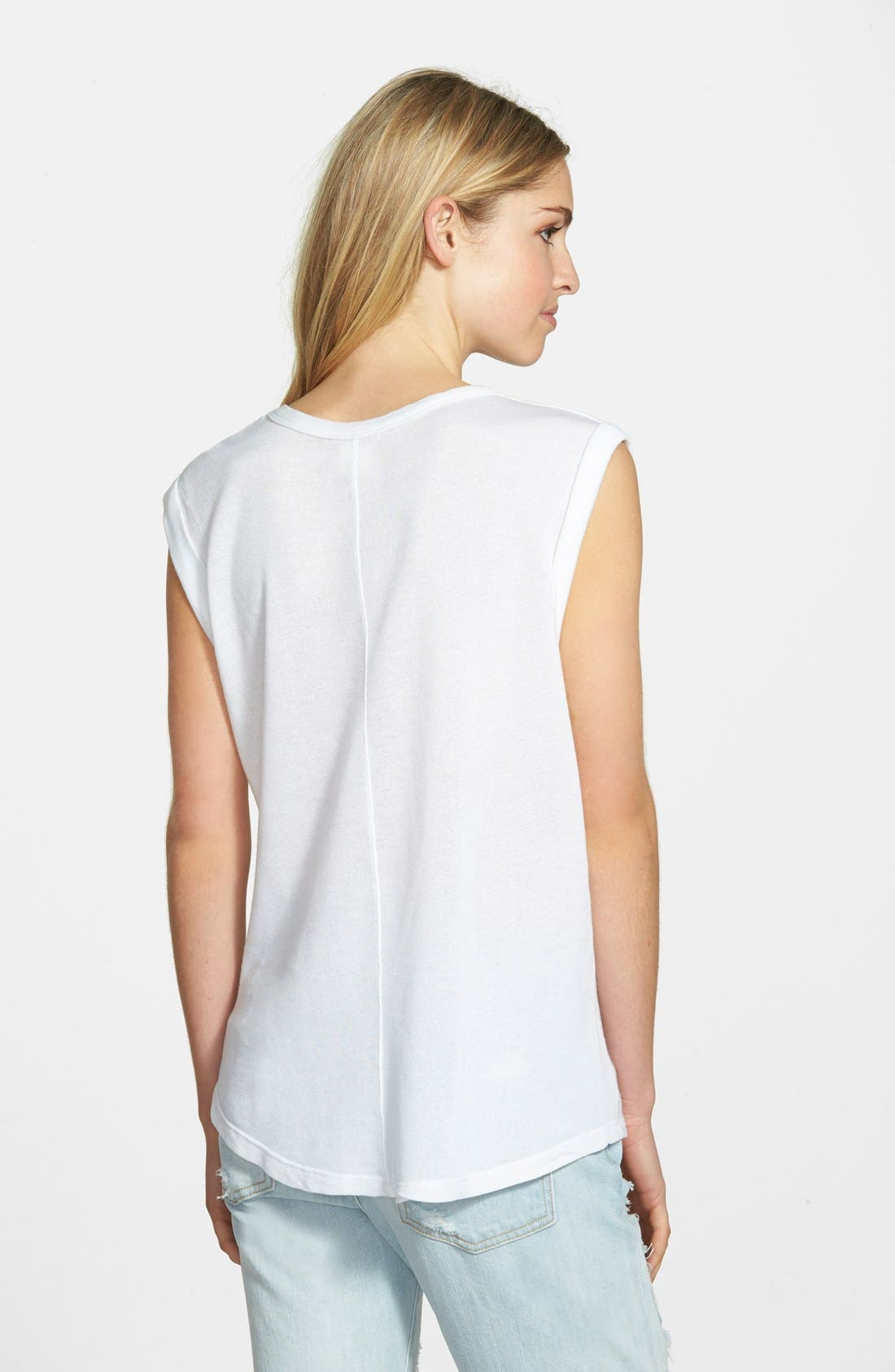 Alternate Image 2  - Sundry Anchor Muscle Tee