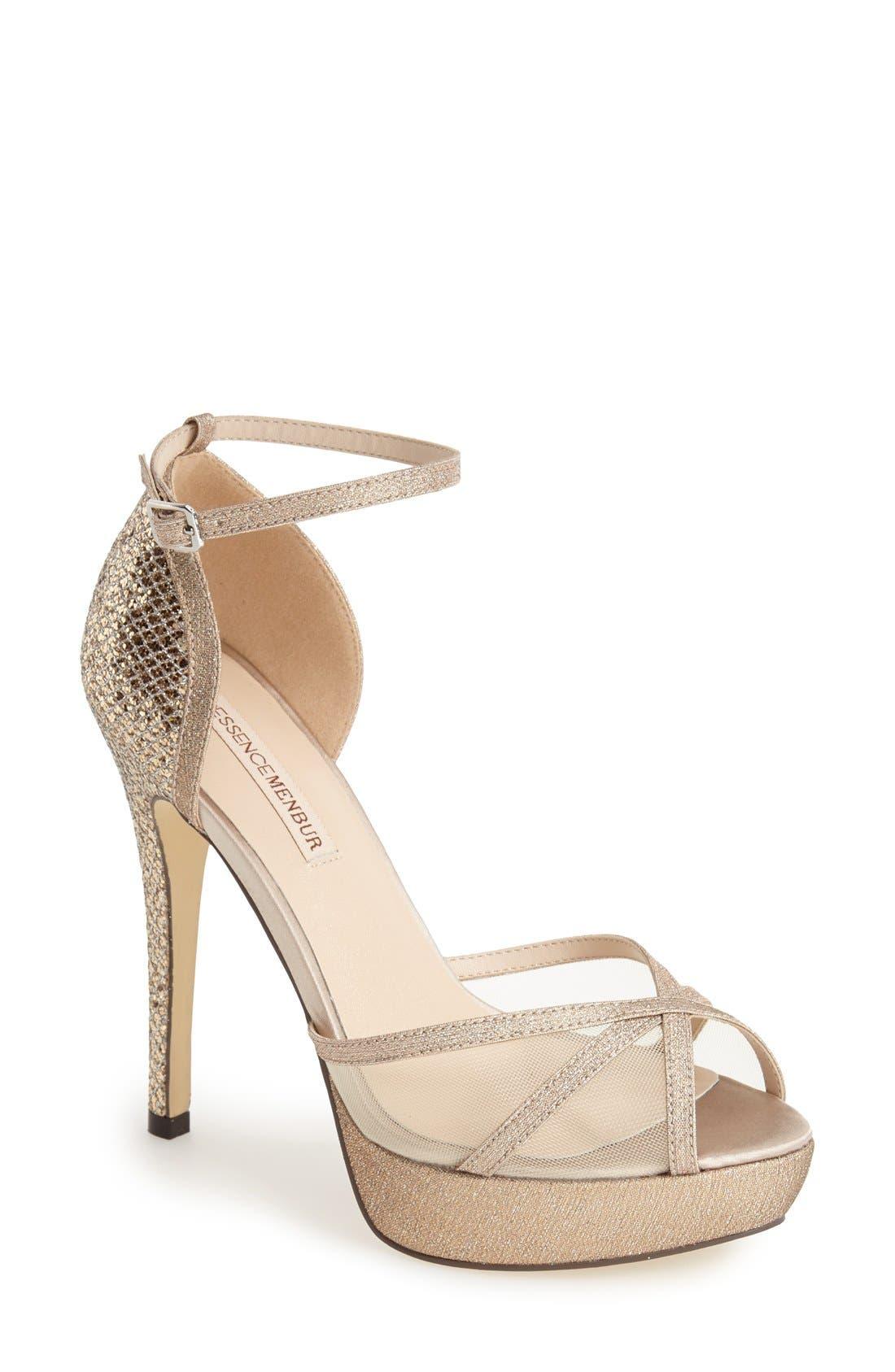 Alternate Image 1 Selected - Menbur 'Anora' Ankle Strap Platform Sandal (Women)