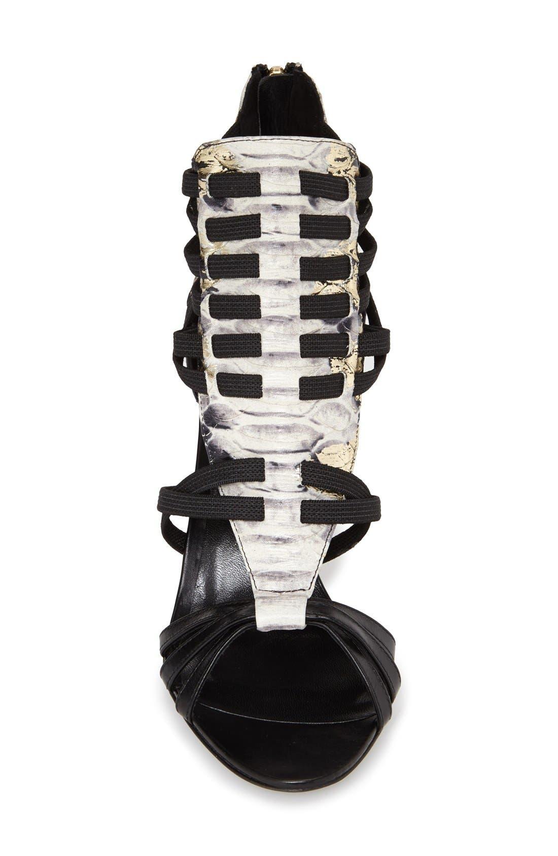 Alternate Image 3  - Delman 'Jacey' Snake Embossed Leather Bootie (Women)