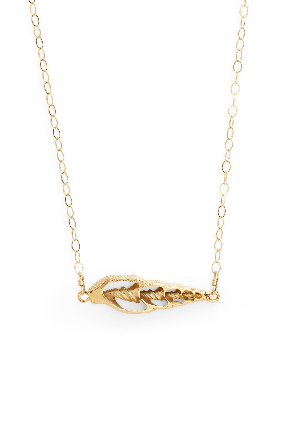 Main Image - ki-ele 'Sunset' Shell Pendant Necklace