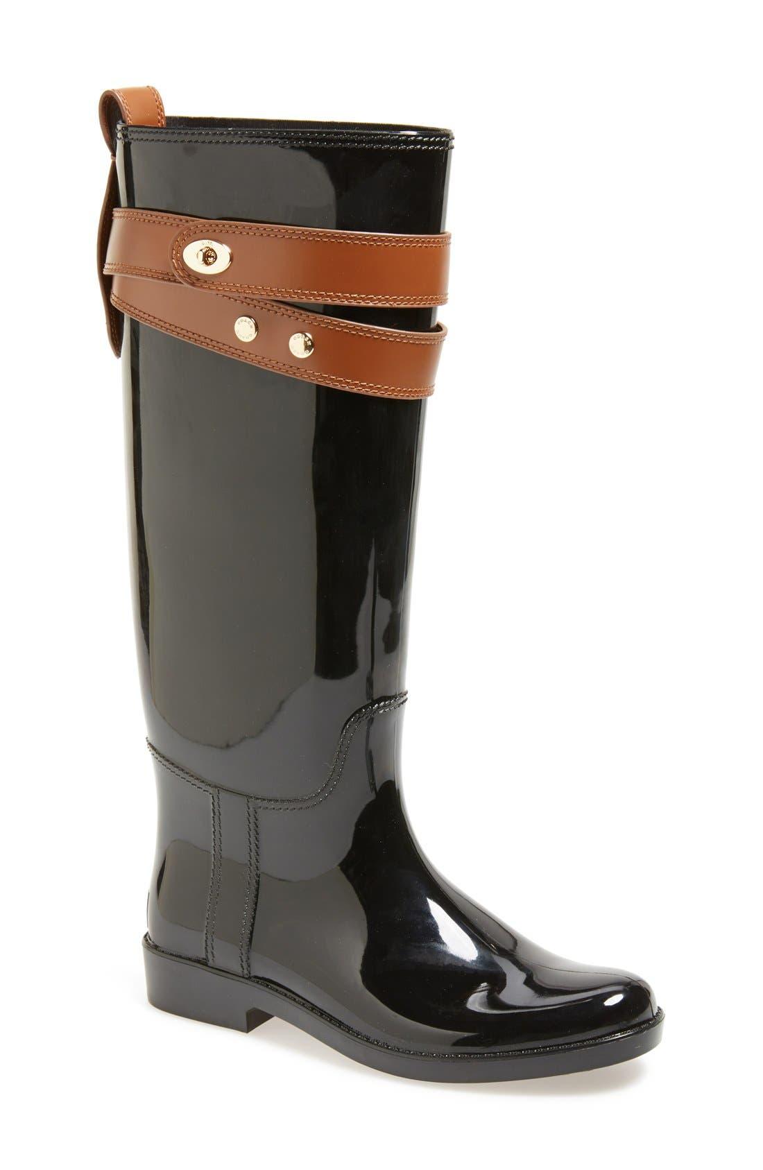 Alternate Image 1 Selected - COACH 'Talia' Waterproof Rain Boot (Women)