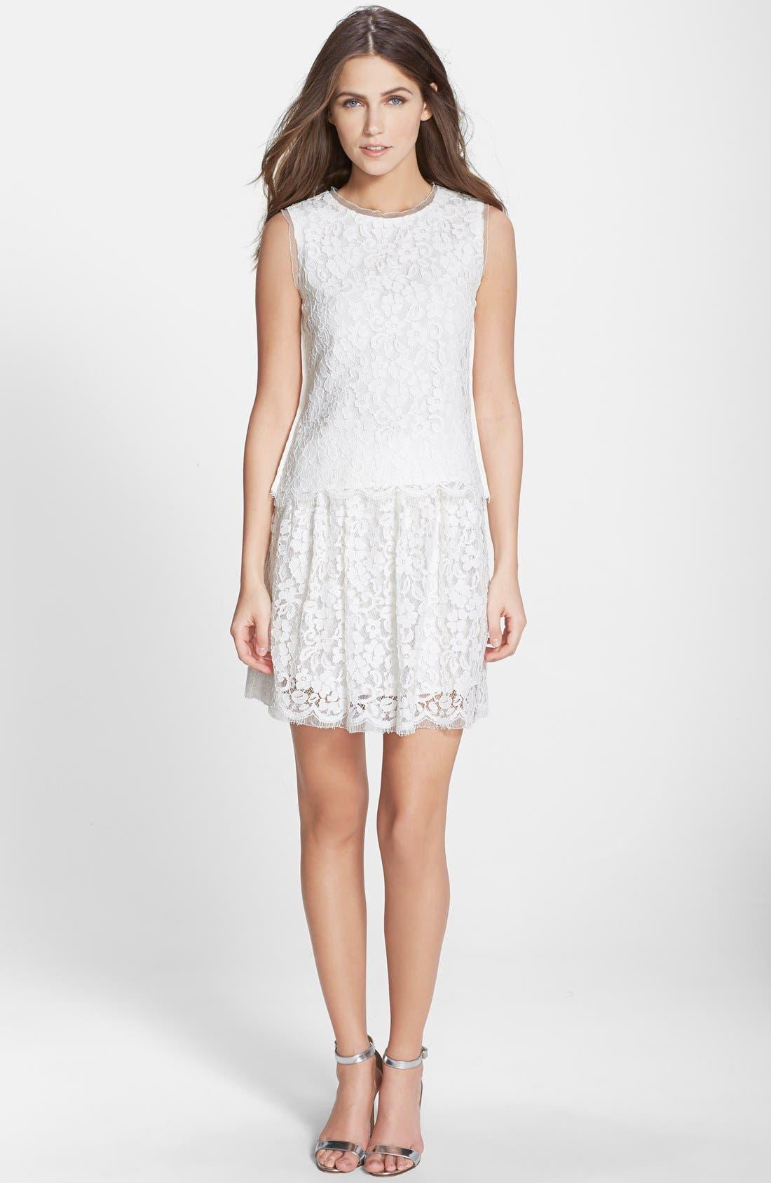 Alternate Image 3  - Elliatt Lace Two-Piece Dress