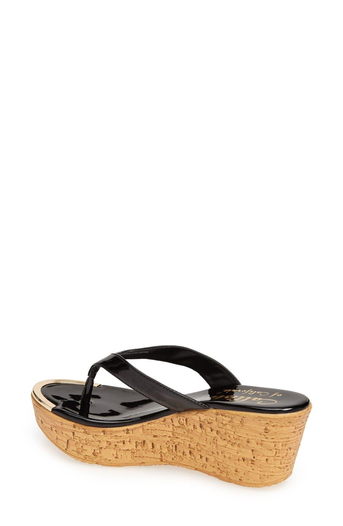 Alternate Image 4  - Callisto 'Jaynie' Platform Thong Sandal (Women)