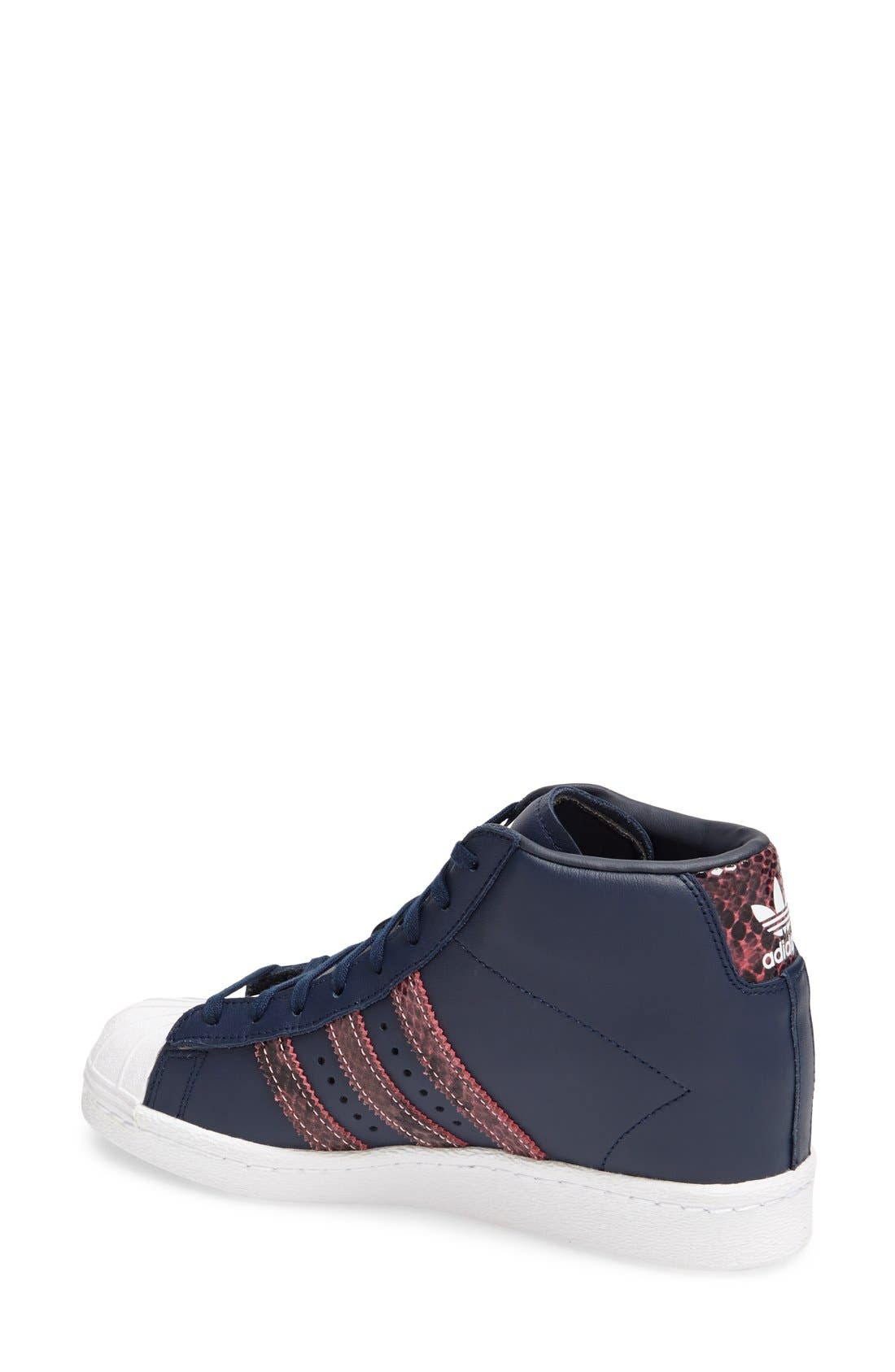 Alternate Image 2  - adidas 'Superstar Up' Hidden Wedge Leather Sneaker (Women)