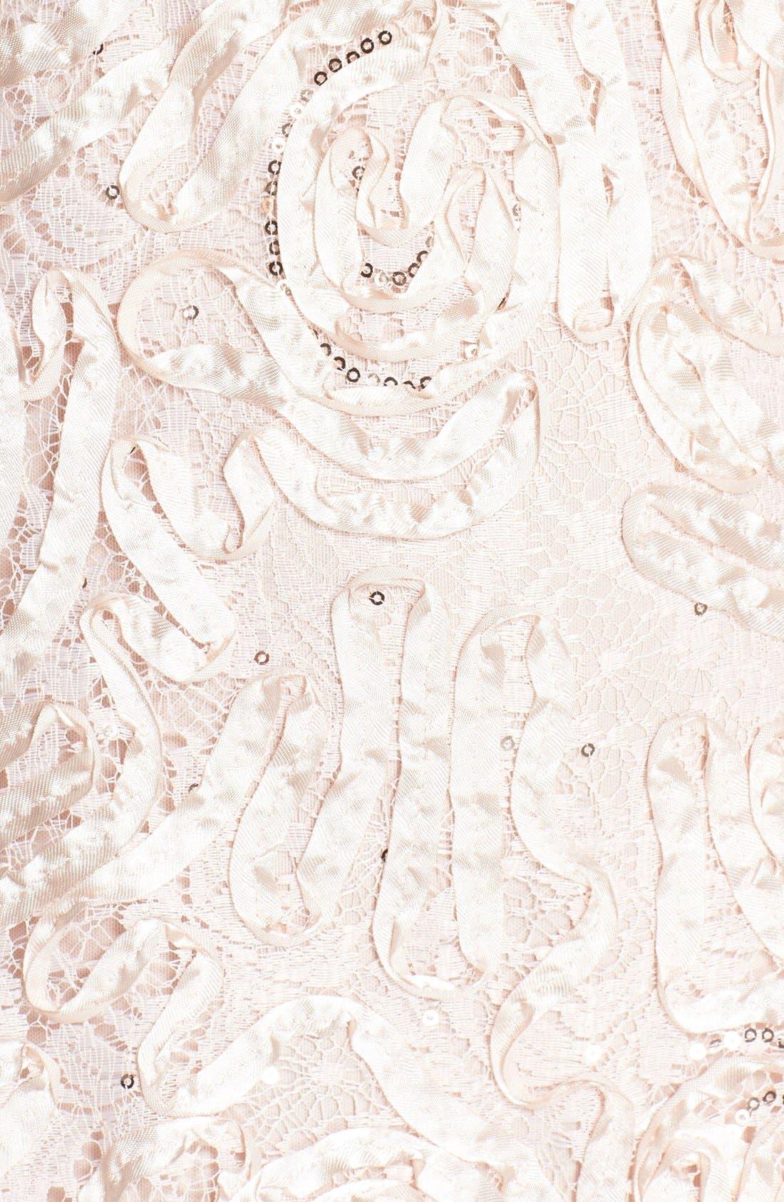 Alternate Image 3  - Patra Sequin Ribbon Soutache Gown