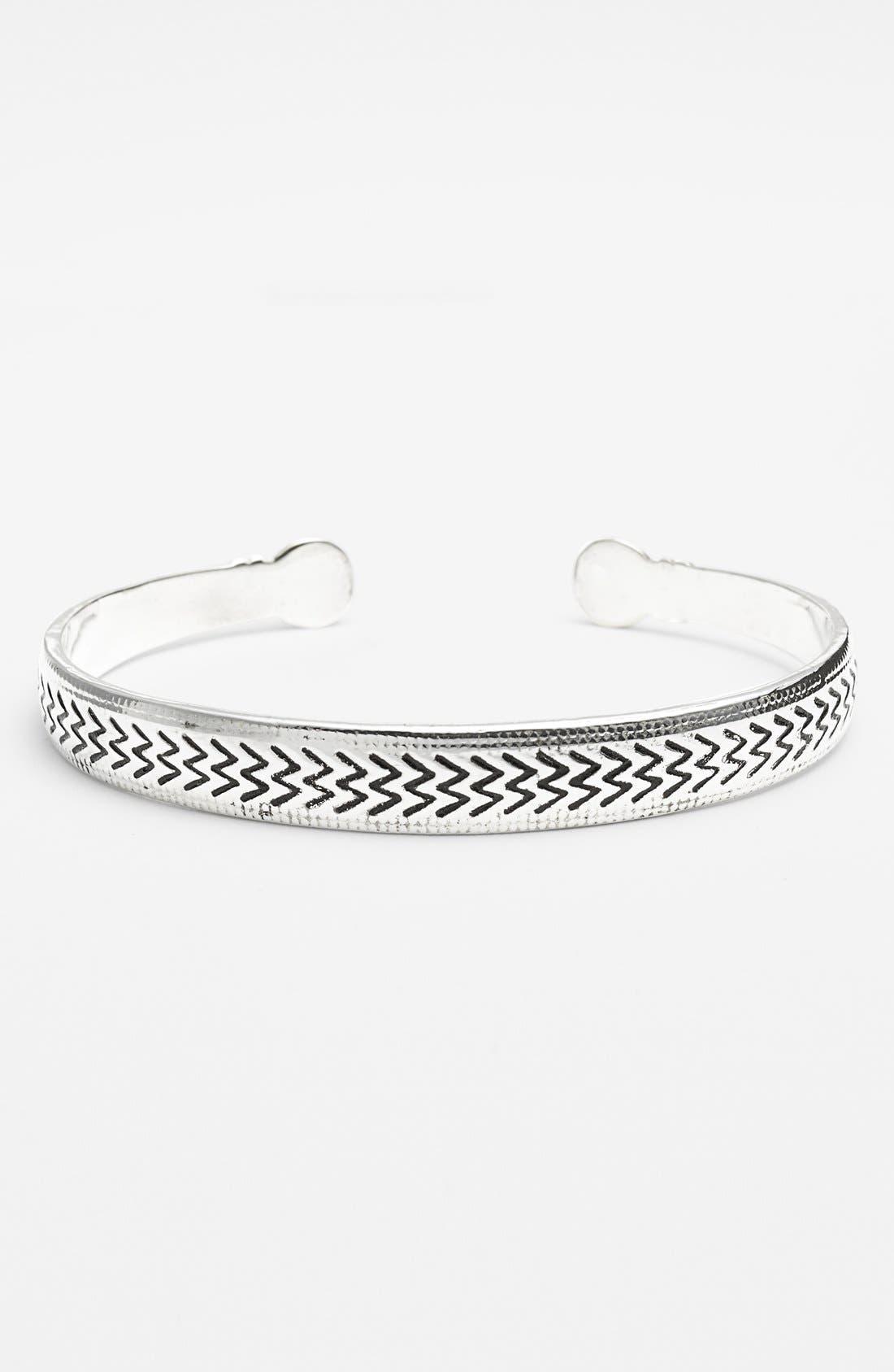 Main Image - BP. Metal Chevron Cuff Bracelet