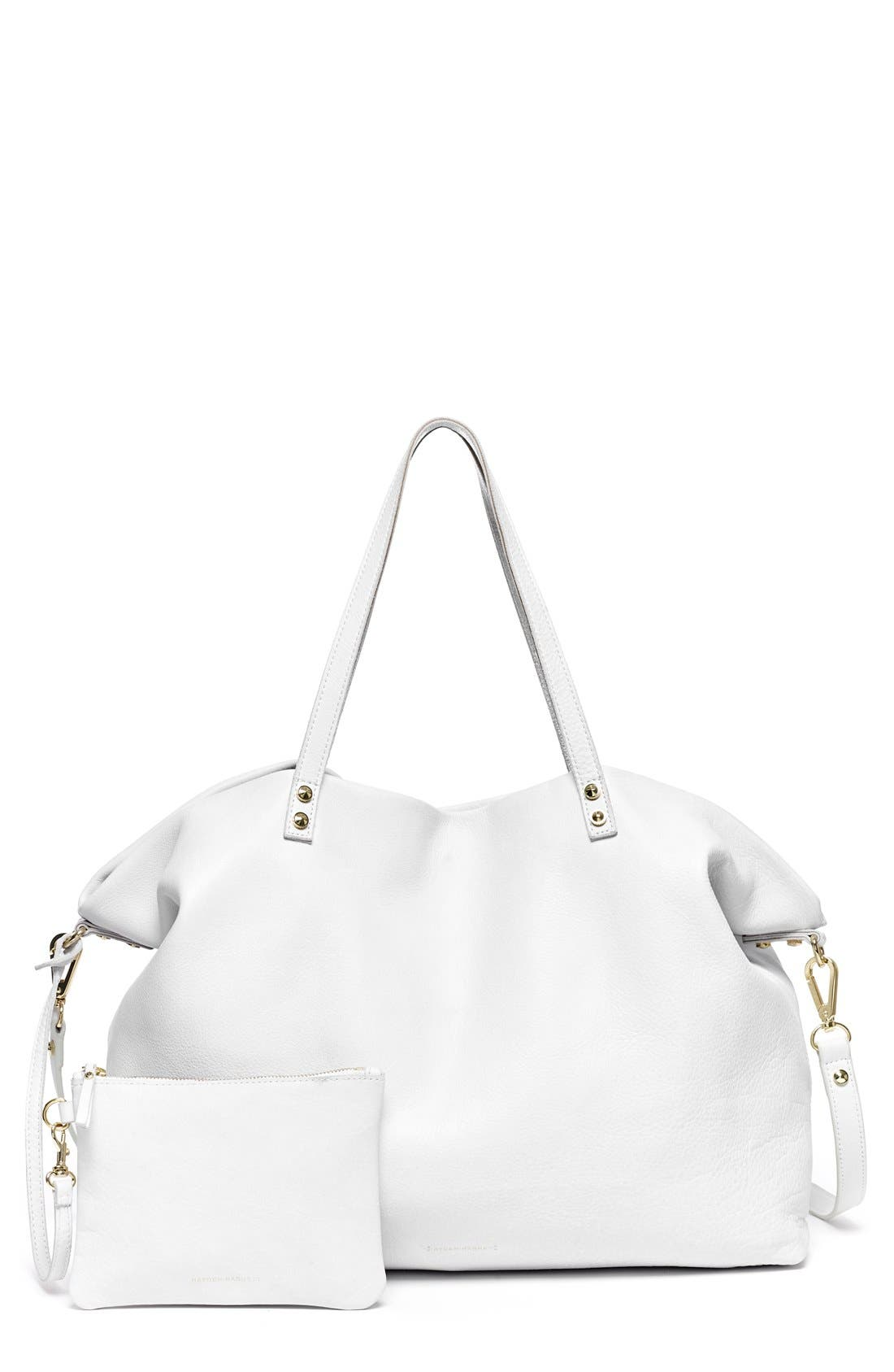 Alternate Image 1 Selected - Hayden-Harnett 'Two-Way' Reversible Leather Tote