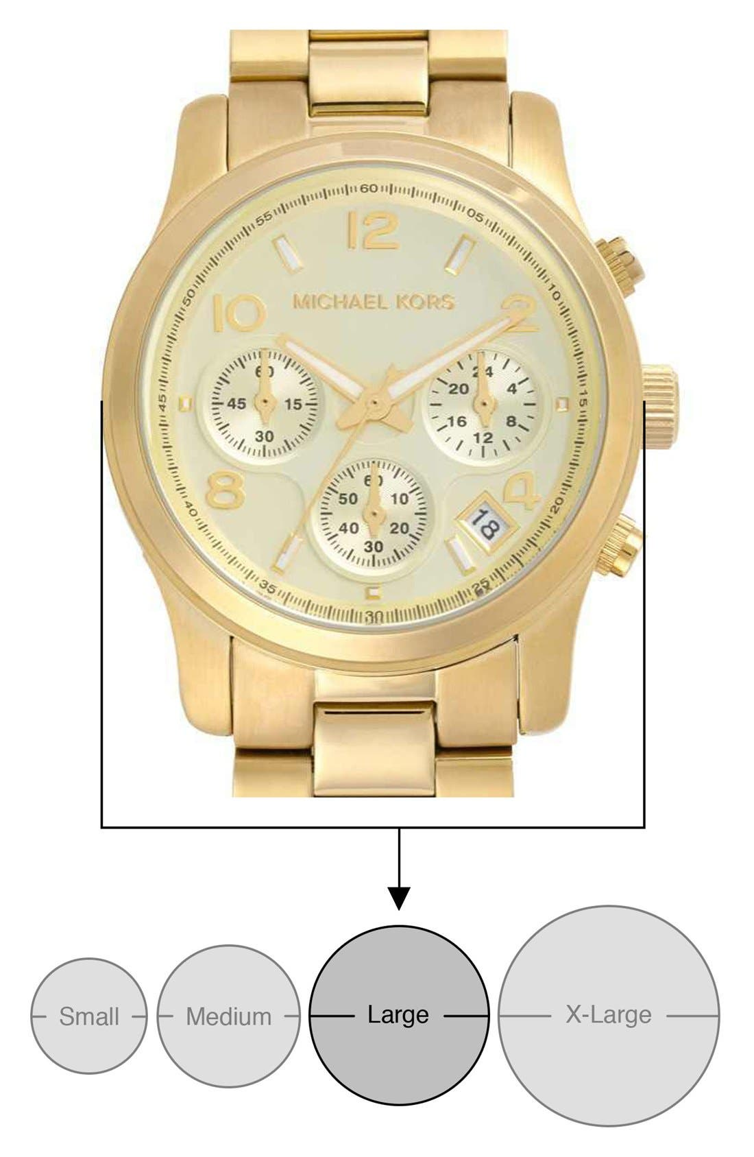 Alternate Image 5  - Michael Kors 'Runway' Chronograph Watch, 38mm