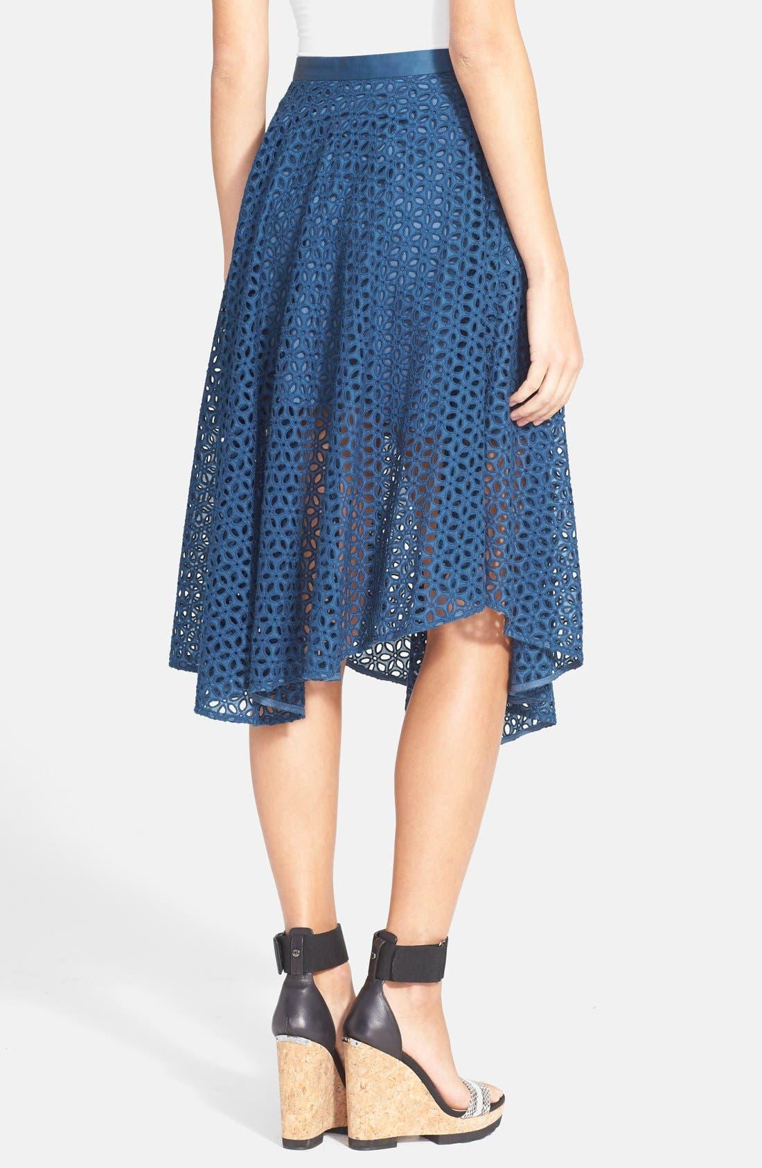 Alternate Image 2  - Tibi 'Hanae' Eyelet Skirt