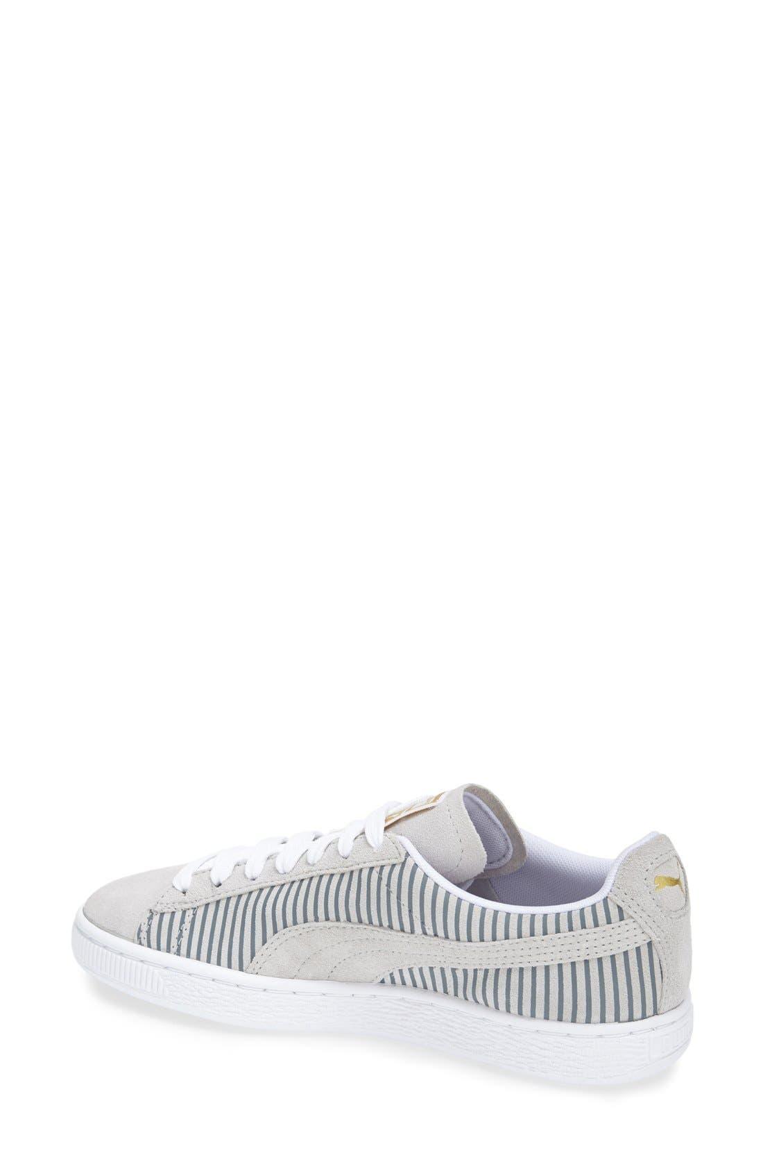 Alternate Image 2  - PUMA 'Suede Classic' Sneaker (Women)