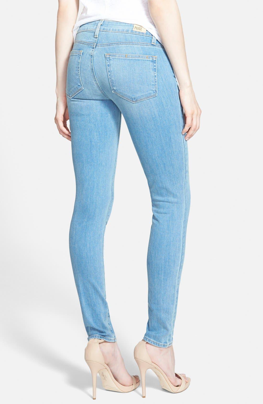 Alternate Image 2  - Paige Denim 'Verdugo' Ultra Skinny Jeans (Maddie)