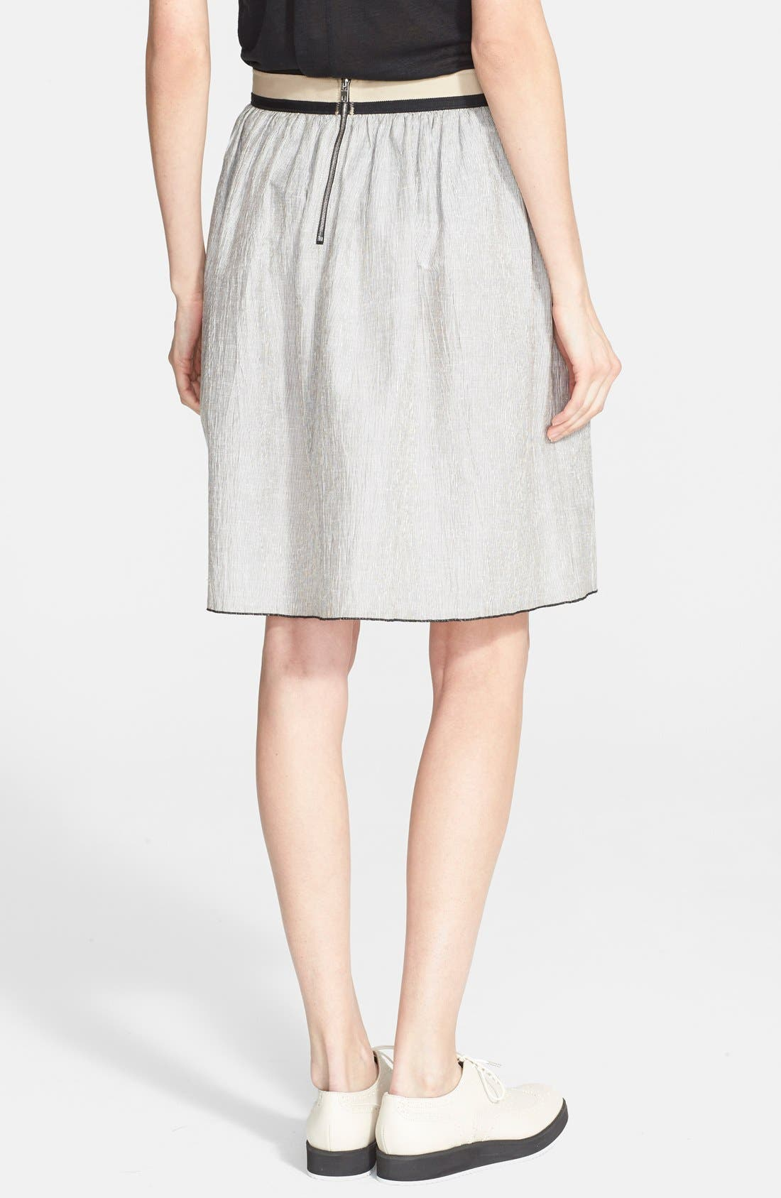 Alternate Image 2  - rag & bone 'Svea' Linen Blend Full Skirt