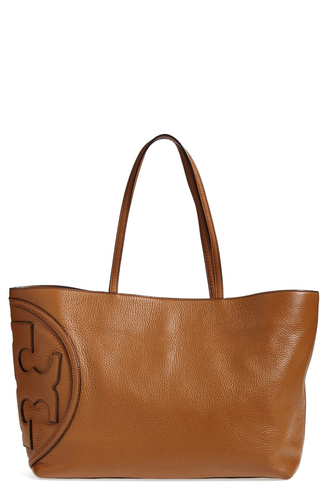 Alternate Image 1 Selected - Tory Burch 'All T' Leather Tote