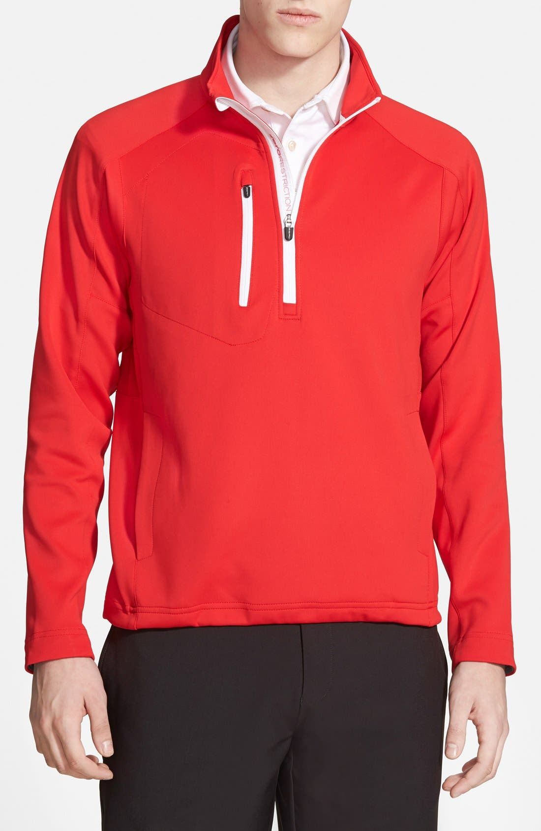 Alternate Image 1 Selected - Zero Restriction 'Z500' Water Resistant Quarter Zip Pullover