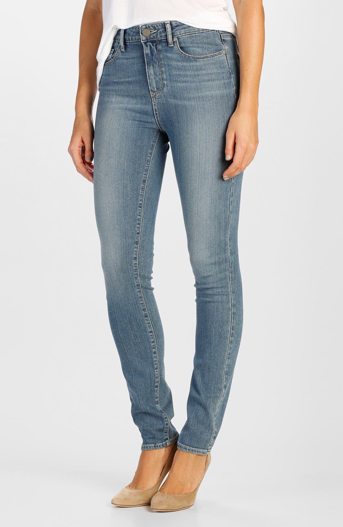 Main Image - Paige Denim 'Transcend - Hoxton' High Rise Ultra Skinny Jeans (Teagan)