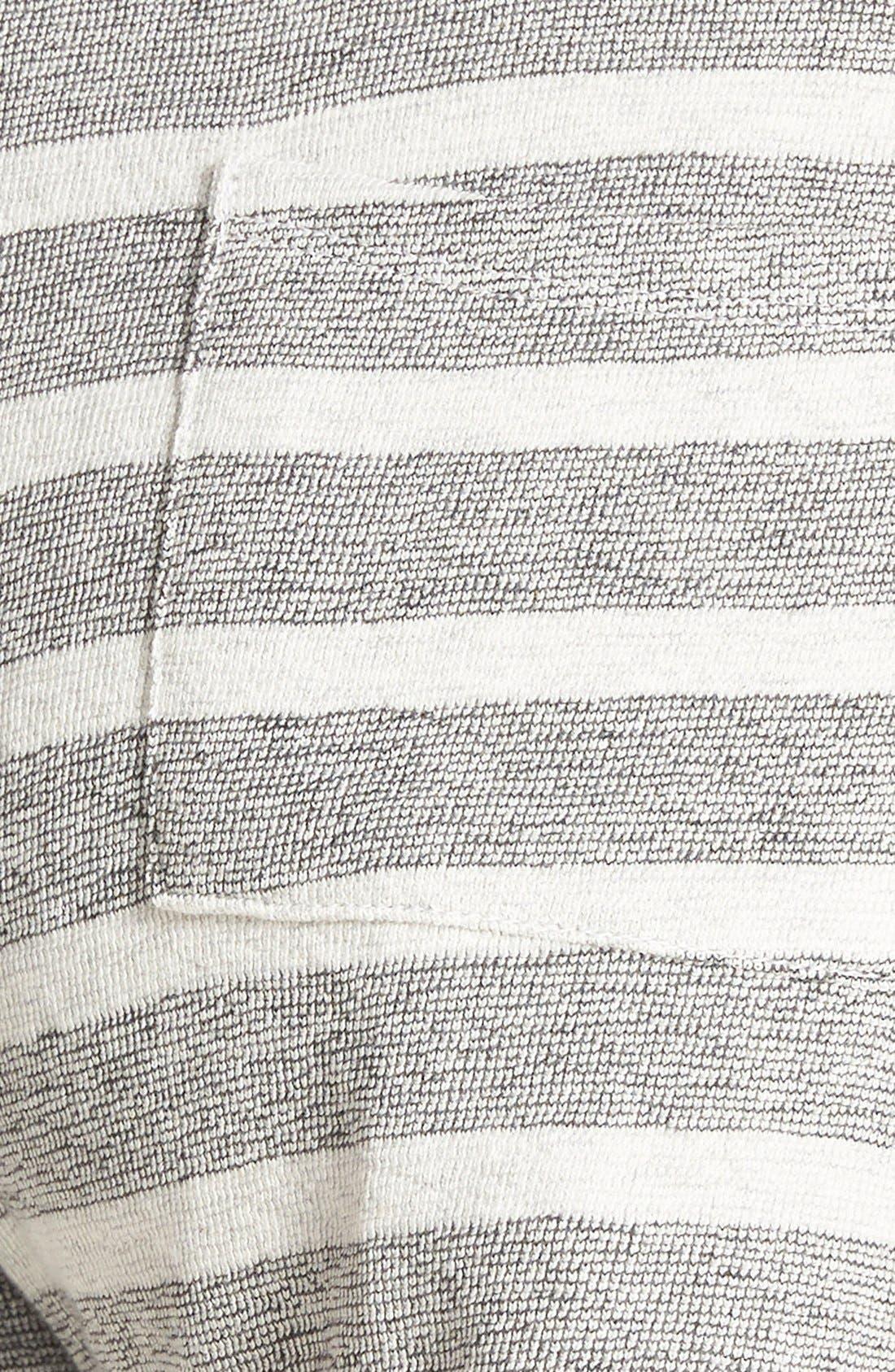 Alternate Image 3  - Lucky Brand Stripe Cotton Shorts