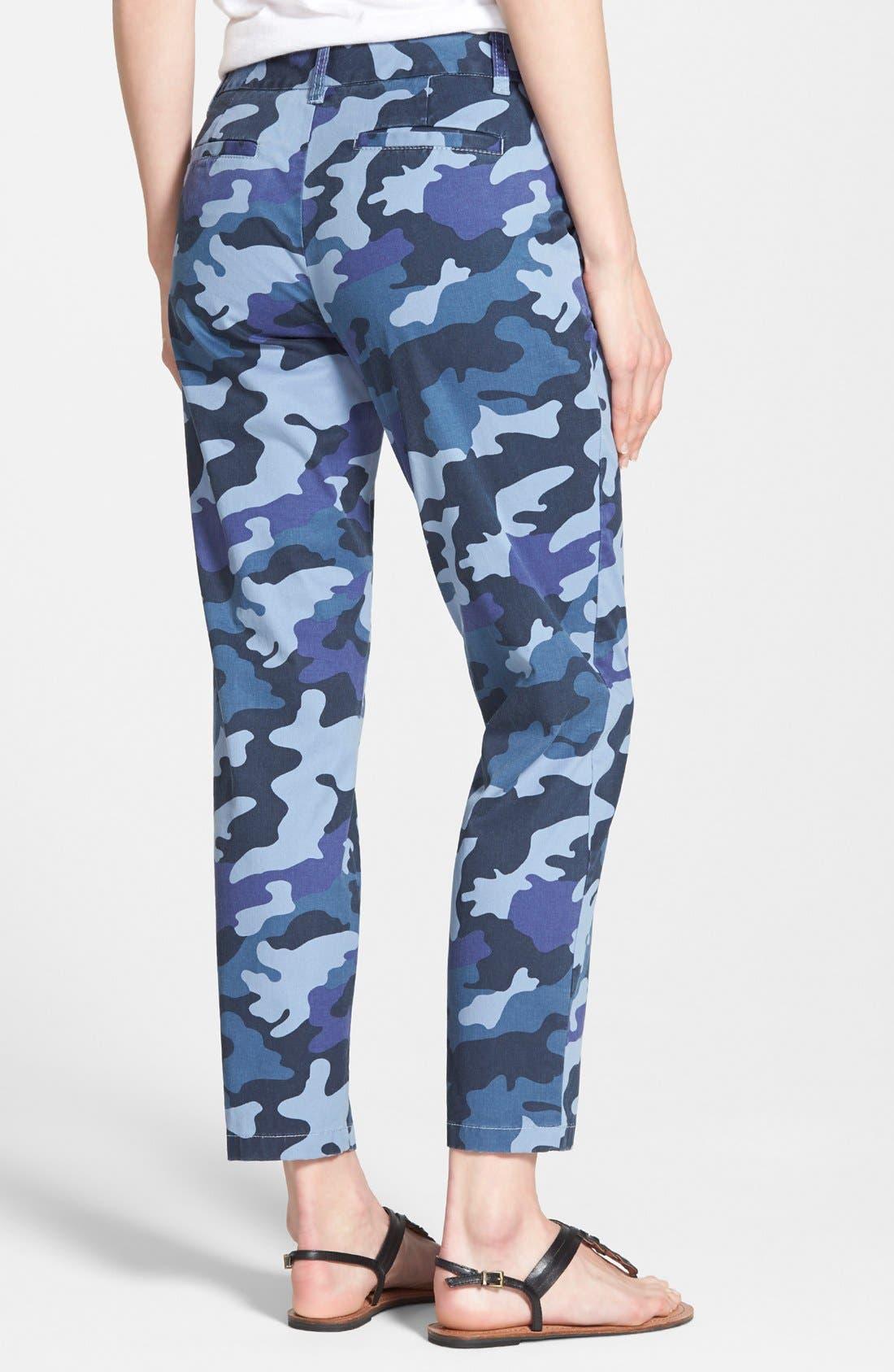 Alternate Image 2  - Caslon® Chino Crop Pants (Petite)