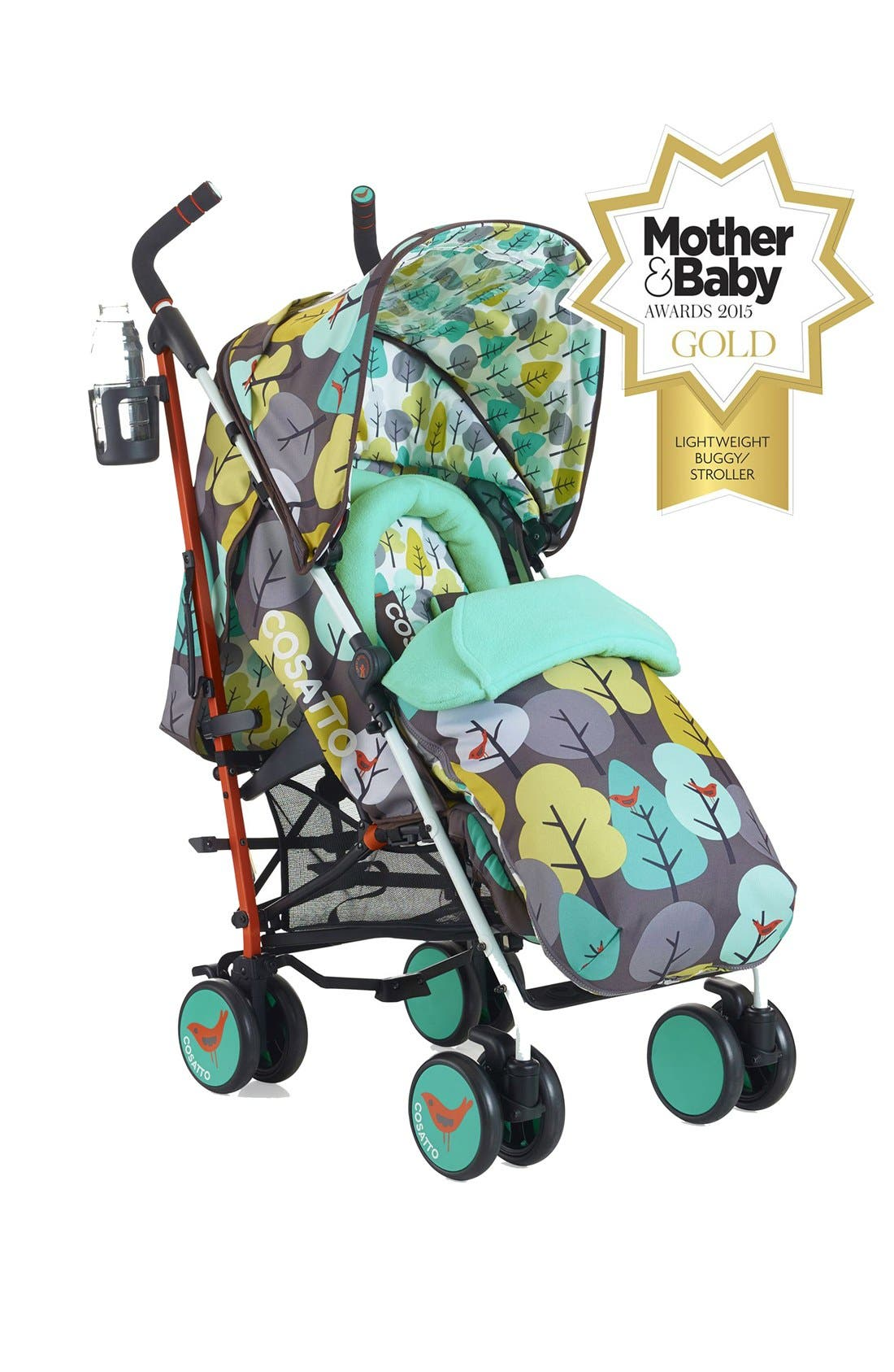 Alternate Image 2  - Cosatto 'Supa - Firebird' Pushchair Stroller