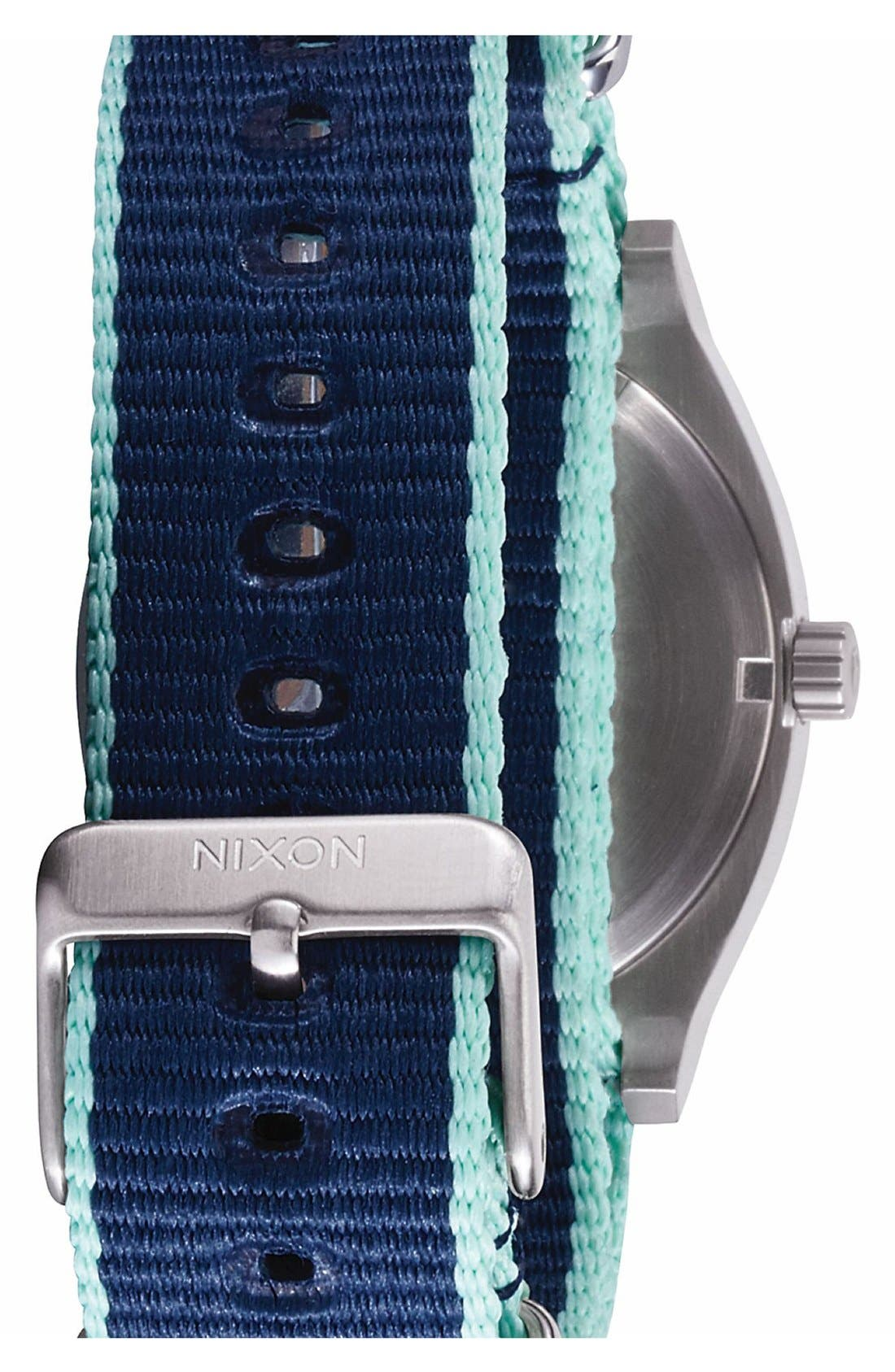 Alternate Image 2  - Nixon 'Time Teller' Canvas Strap Watch, 37mm