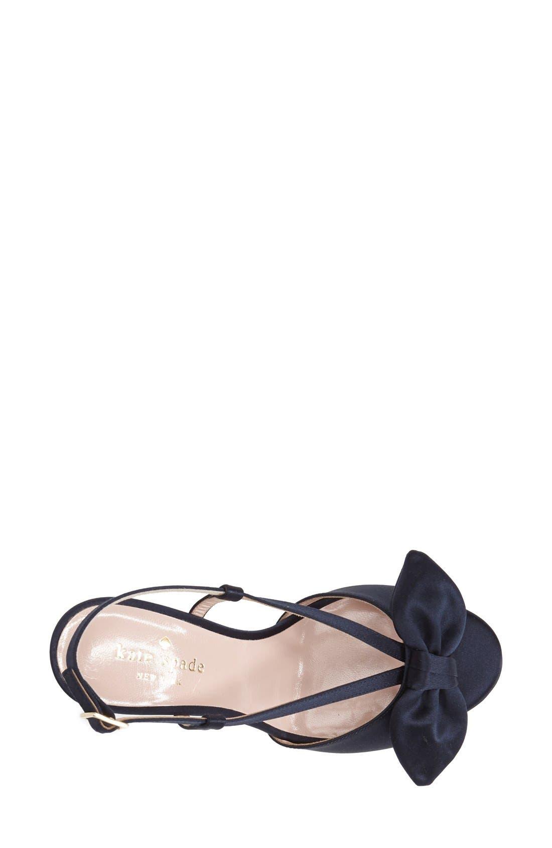 Alternate Image 3  - kate spade new york 'rezza' platform sandal (Women)