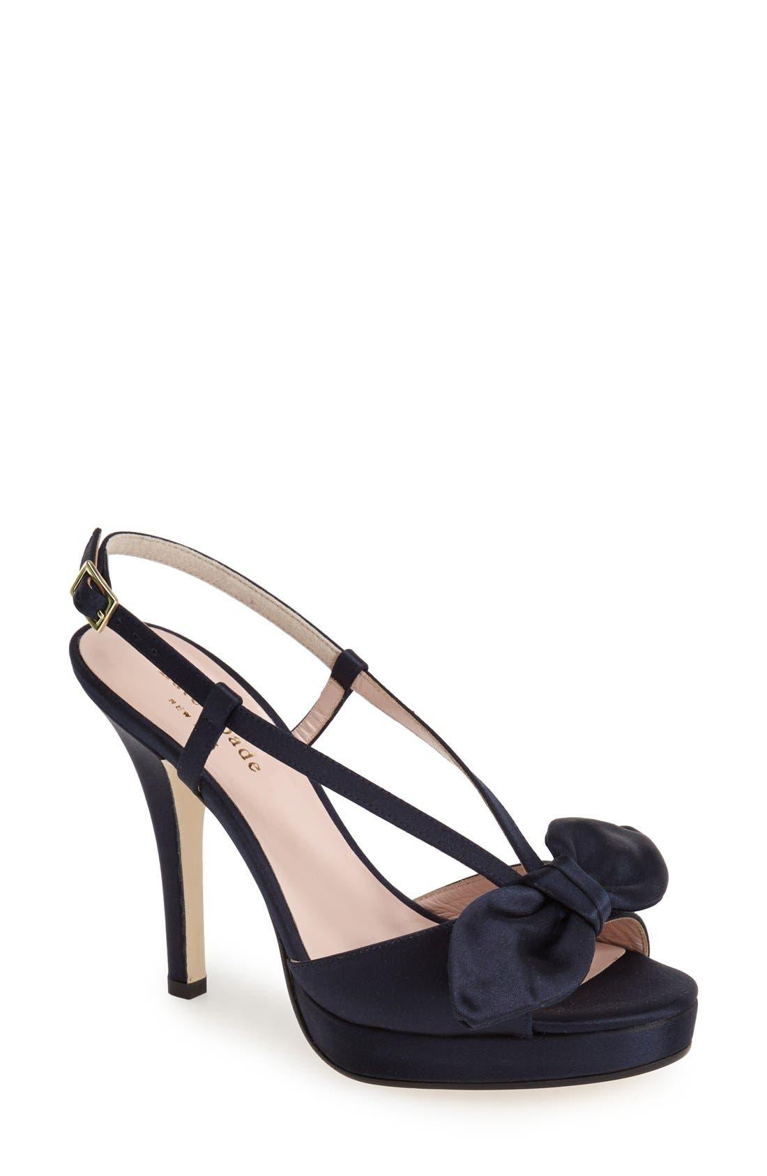 Alternate Image 1 Selected - kate spade new york 'rezza' platform sandal (Women)