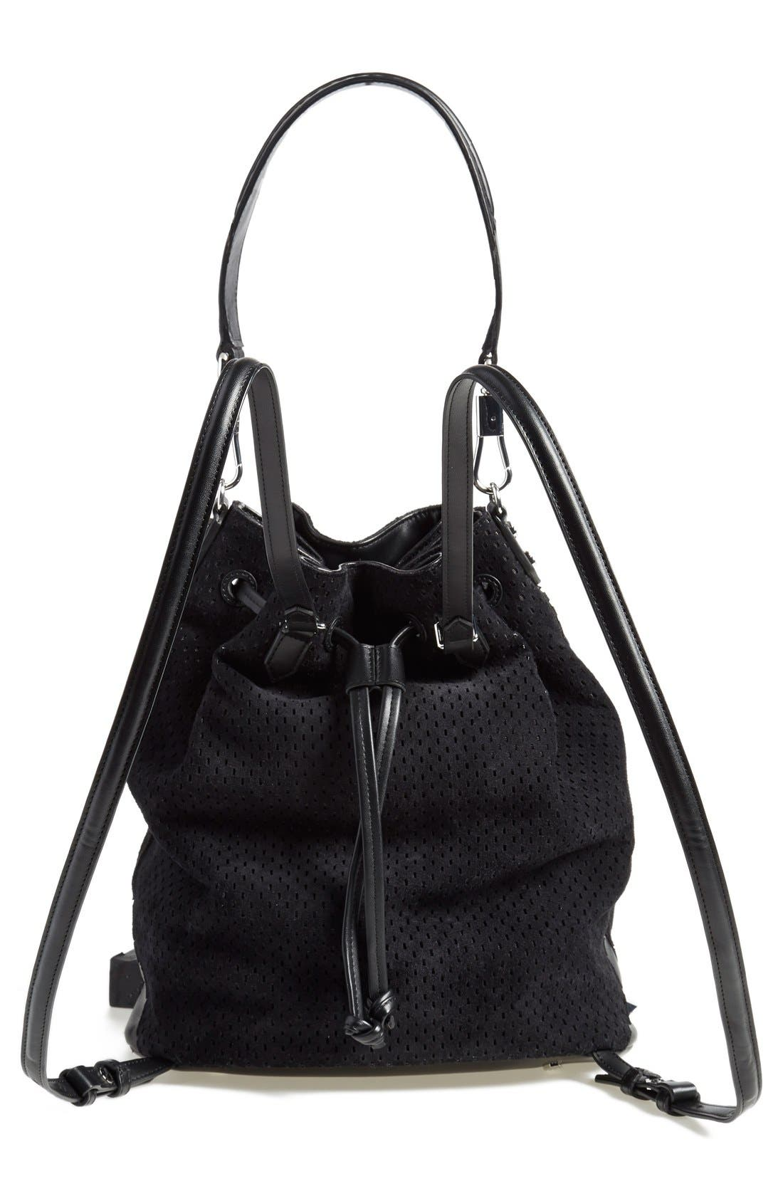 Alternate Image 3  - Elizabeth and James 'Cynnie' Perforated Sling Backpack