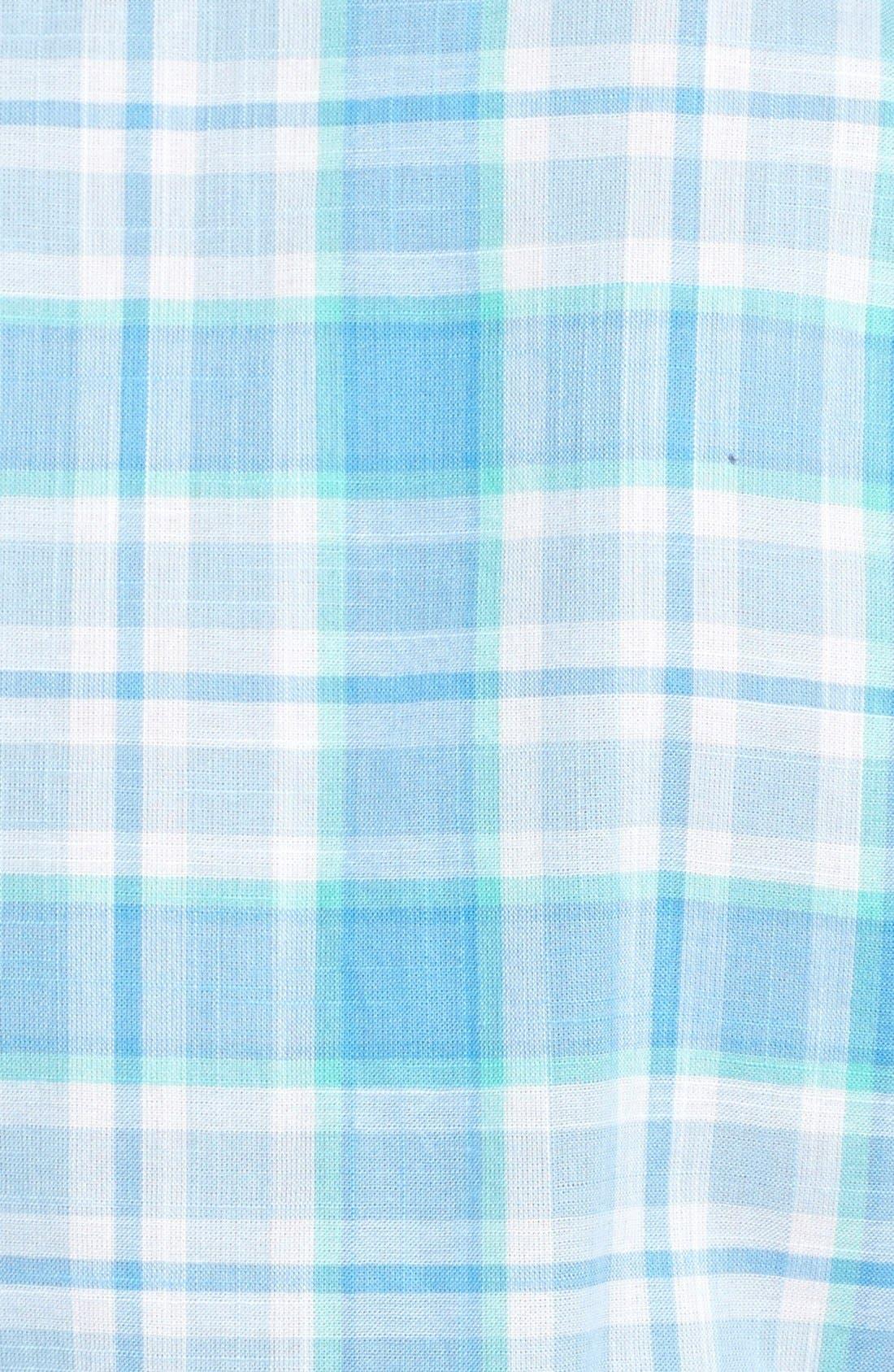 Alternate Image 3  - Vineyard Vines 'Tucker' Classic Fit Plaid Sport Shirt