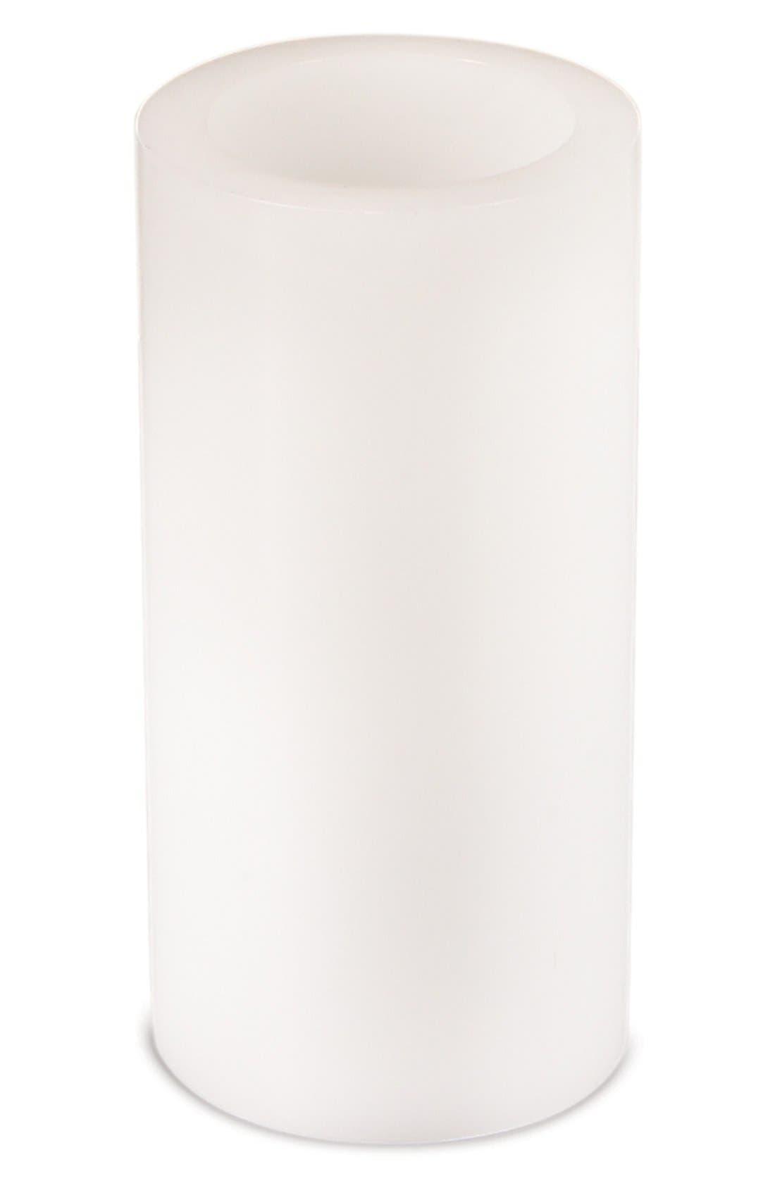 MELROSE GIFTS White Pillar LED Candle