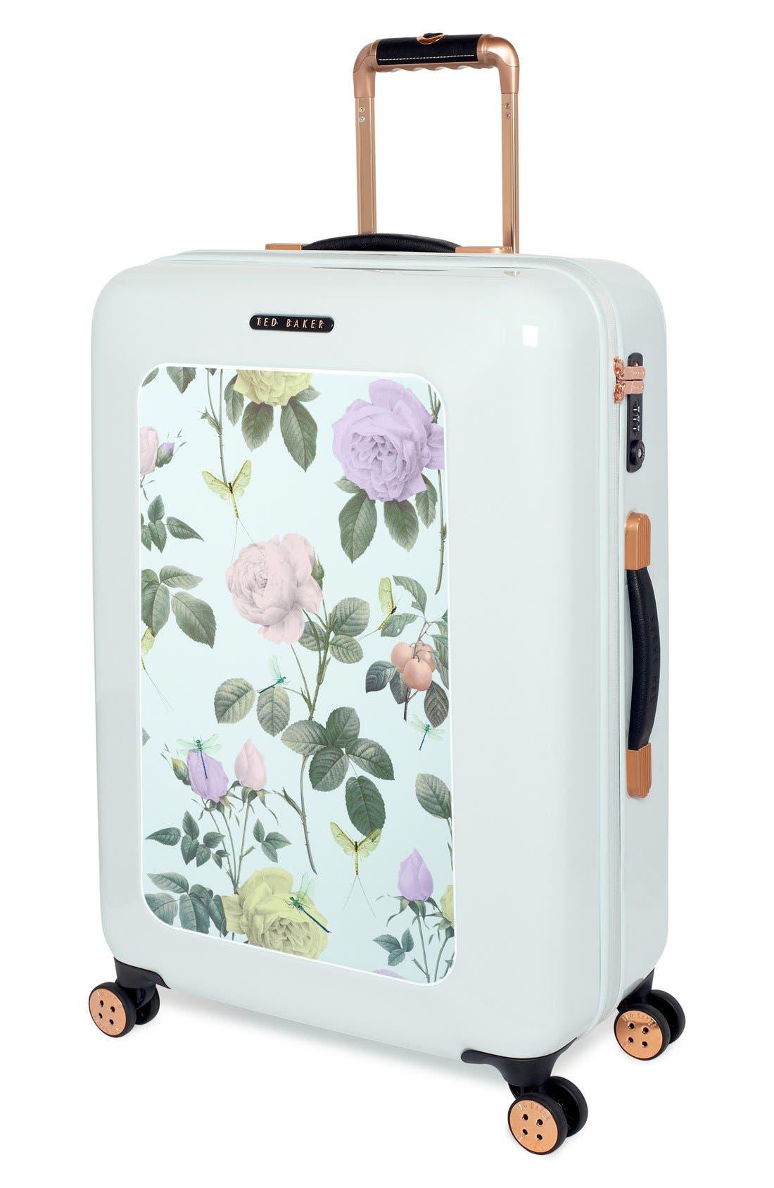 Alternate Image 4  - Ted Baker London 'Medium Rose' Hard Shell Suitcase (28 Inch)