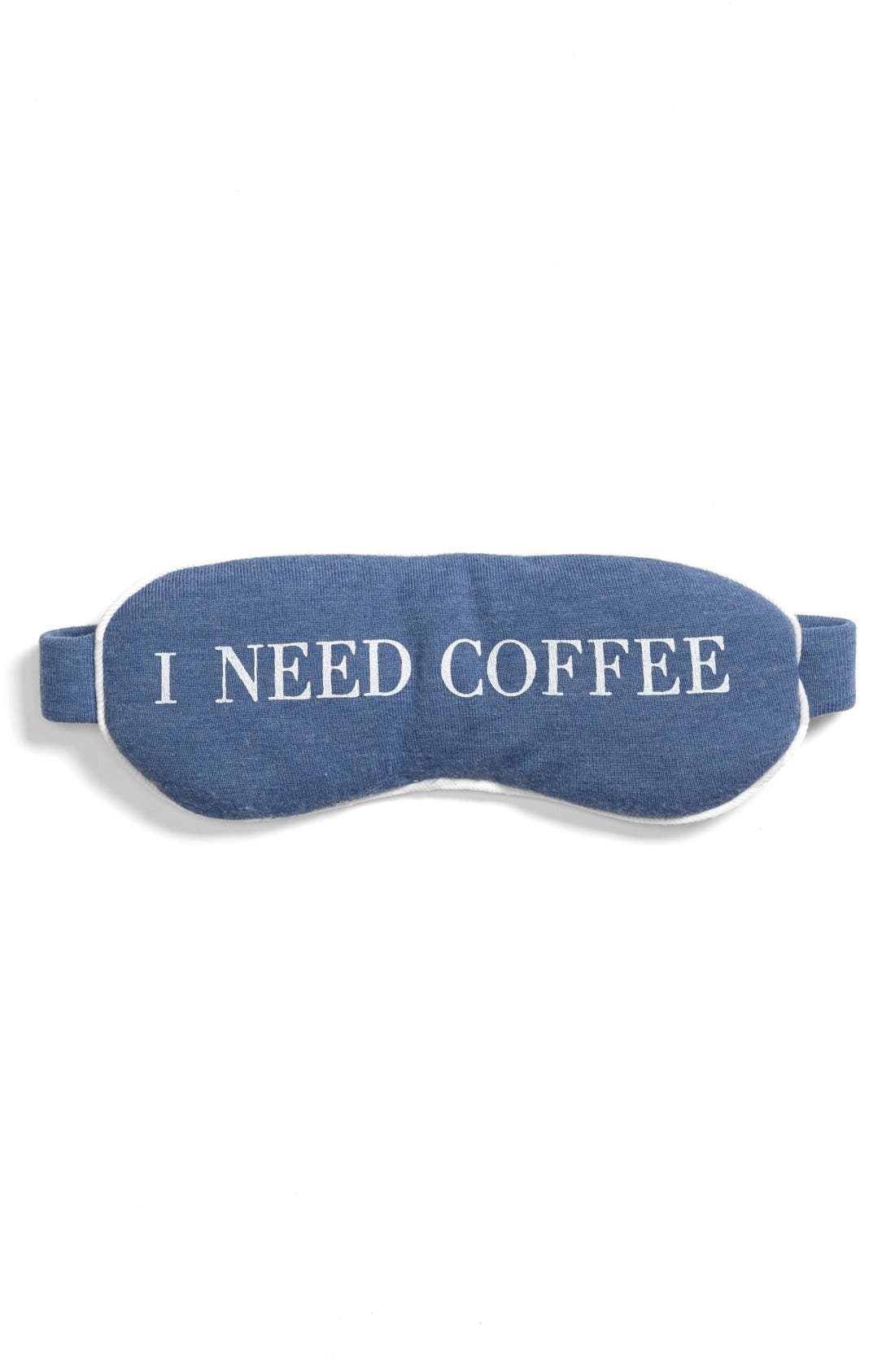 Main Image - Wildfox 'I Need Coffee' Sleep Mask