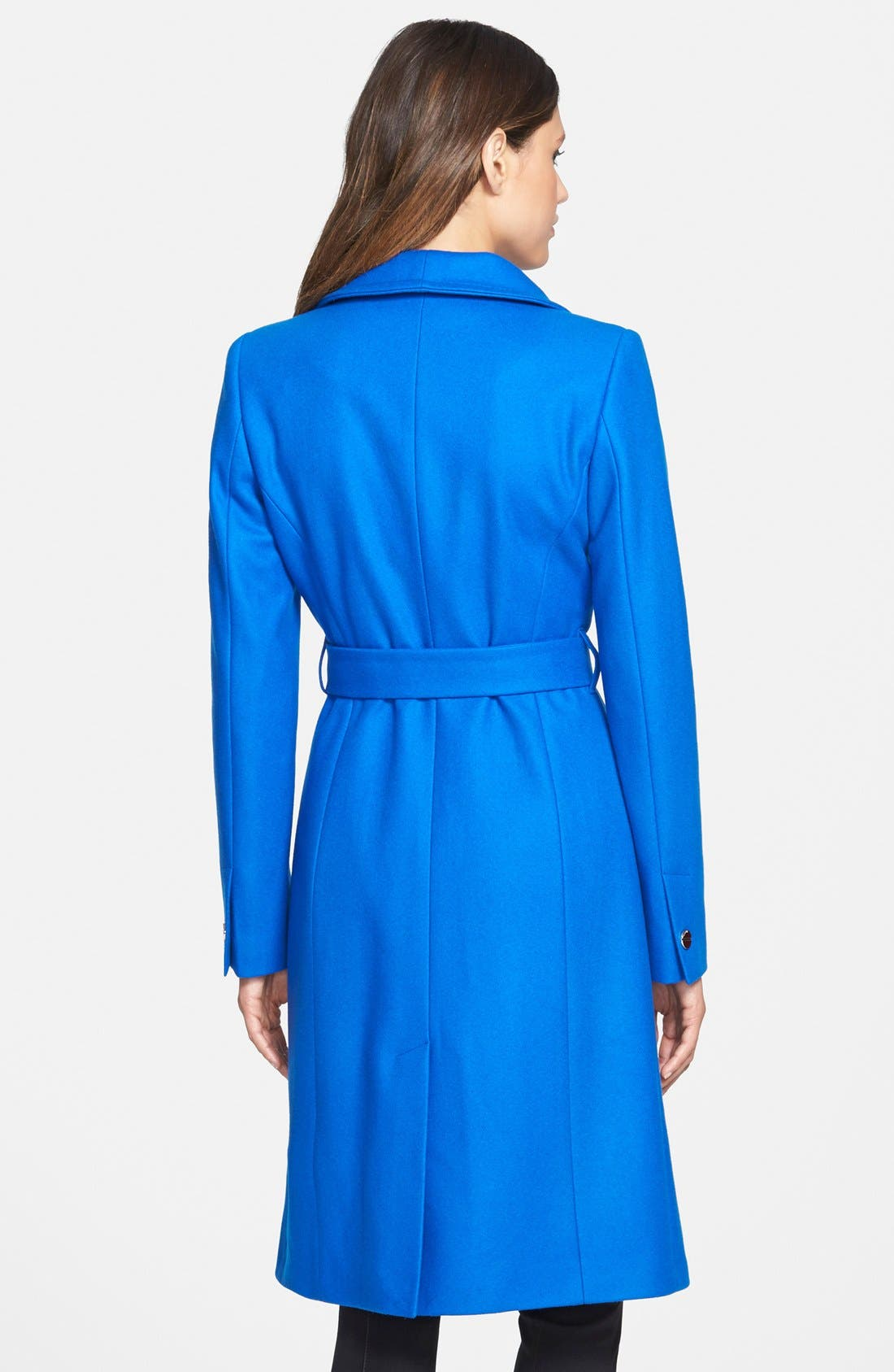 Alternate Image 2  - Ted Baker London 'Nevia' Stand Collar Belted Wrap Coat