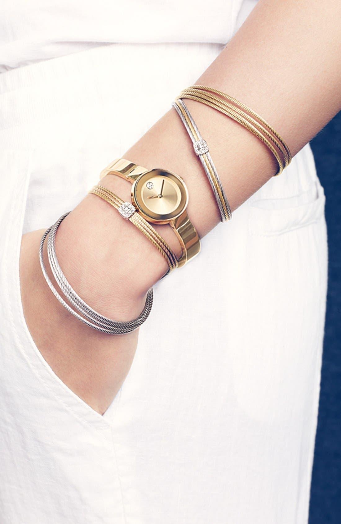 Alternate Image 2  - ALOR® Diamond Station Bracelet