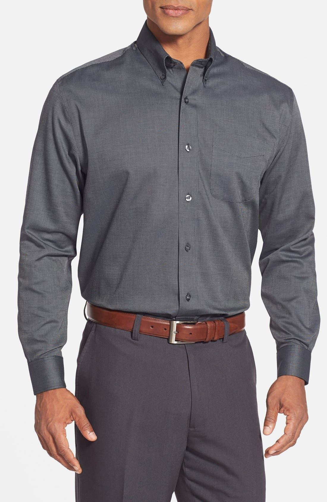 CUTTER & BUCK 'Nailshead' Classic Fit Sport Shirt