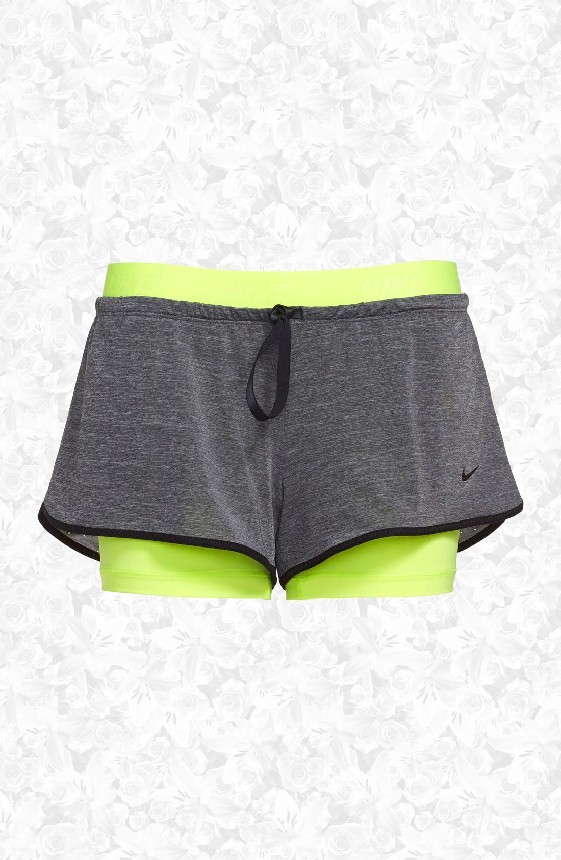Main Image - Nike 'Pro Inside Full Flex' Dri-FIT Training Shorts (Women)