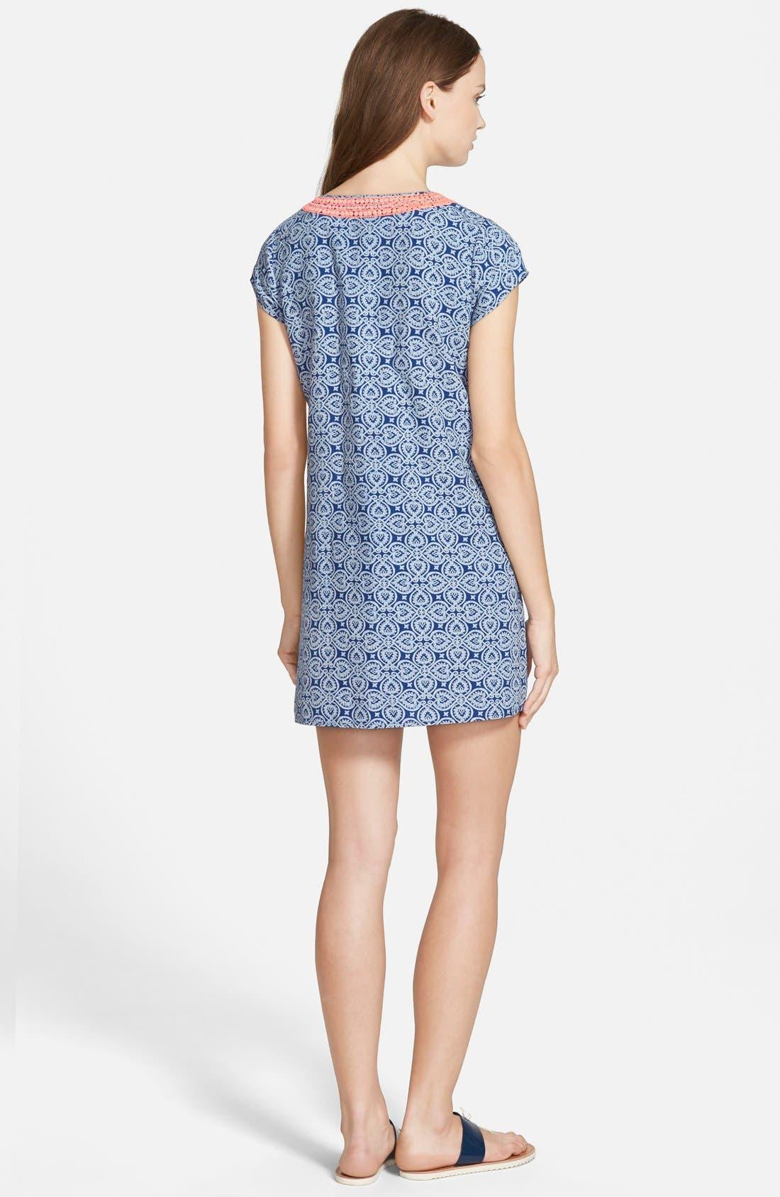 Alternate Image 2  - Vineyard Vines Tile Print Shift Dress
