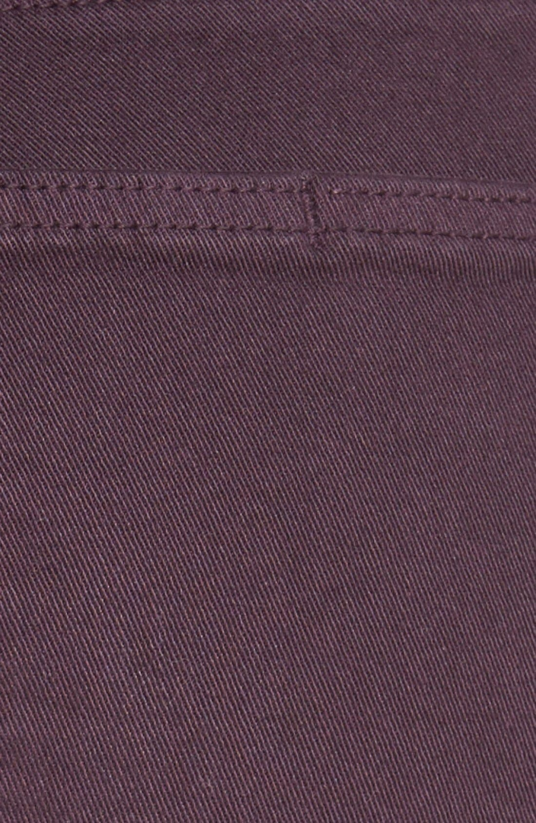 Alternate Image 7  - Paige Denim 'Verdugo' Ankle Skinny Jeans (Autumn Plum) (Nordstrom Exclusive)