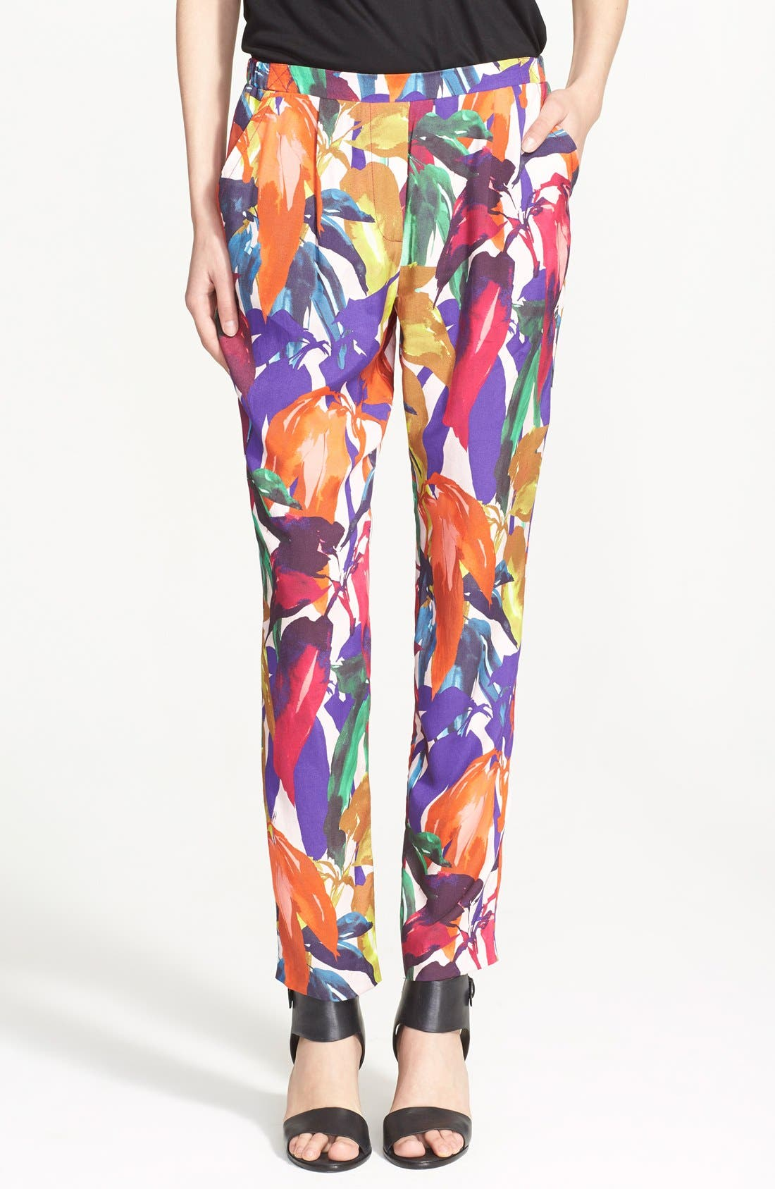 Alternate Image 1 Selected - Trina Turk 'Gilly' Print Pants