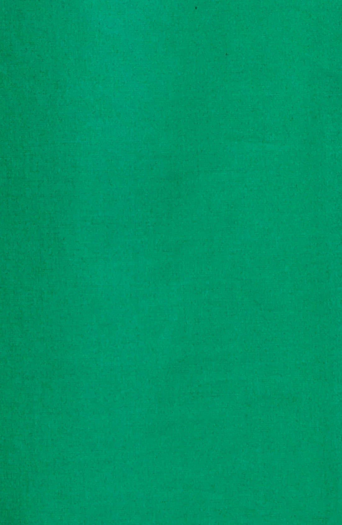 Alternate Image 3  - BOSS 'Dashiri' Belted Stretch Poplin Shirtdress