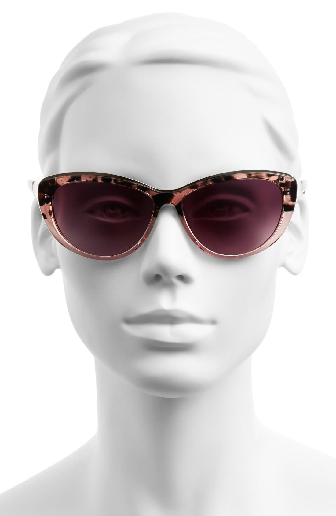Alternate Image 2  - Lilly Pulitzer® 'Marianne' 59mm Cat Eye Sunglasses